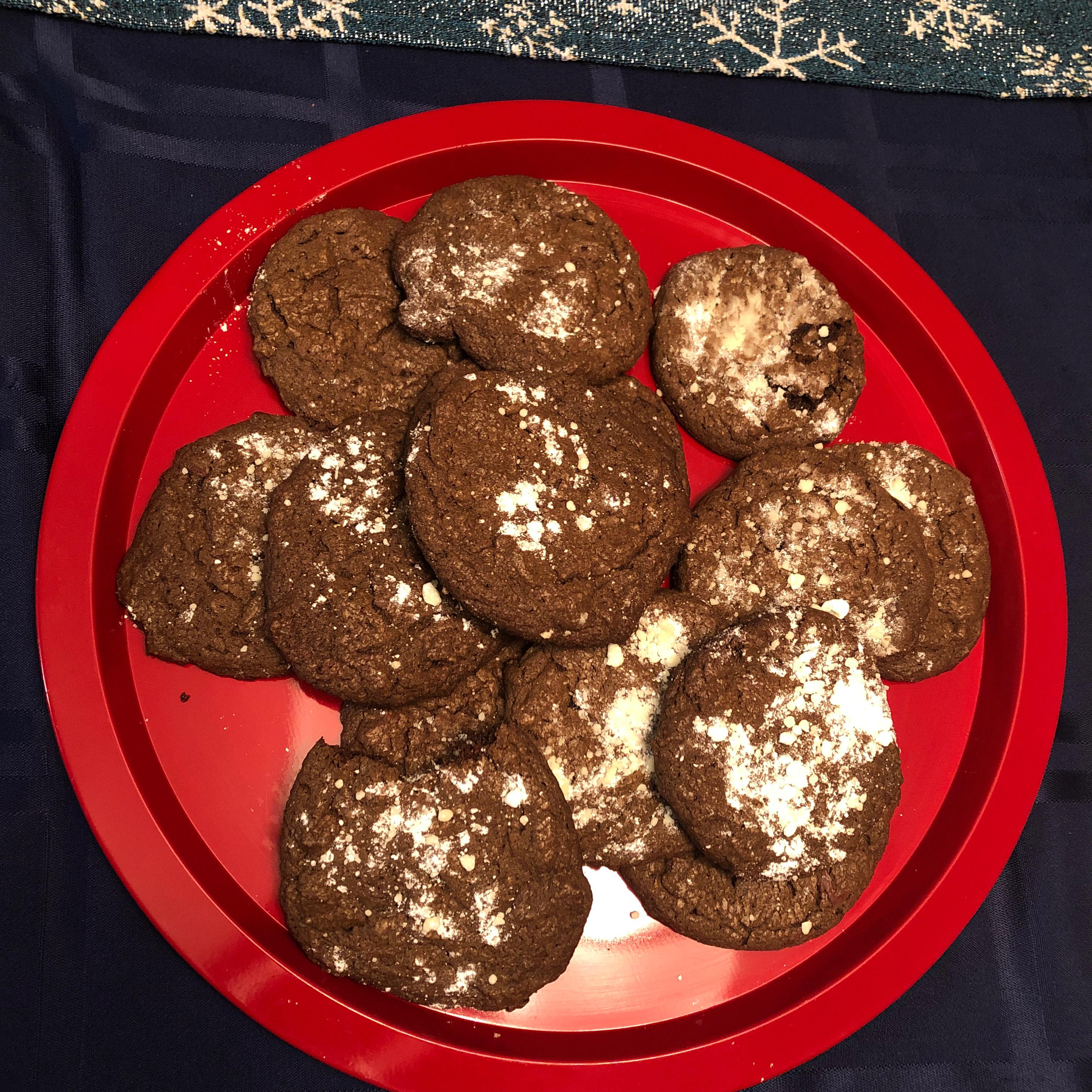 Chocolate Crackle Cookies Liam Bradley