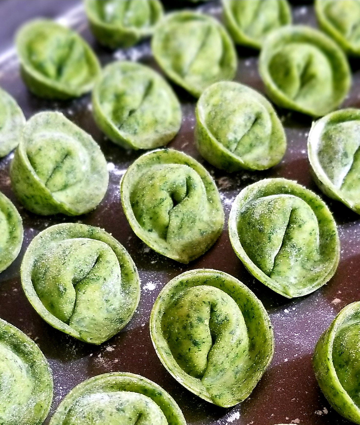 Spinach and Ricotta Tortellini Carson's Mommy