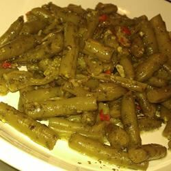 Chinese Peppered Green Beans MBKRH