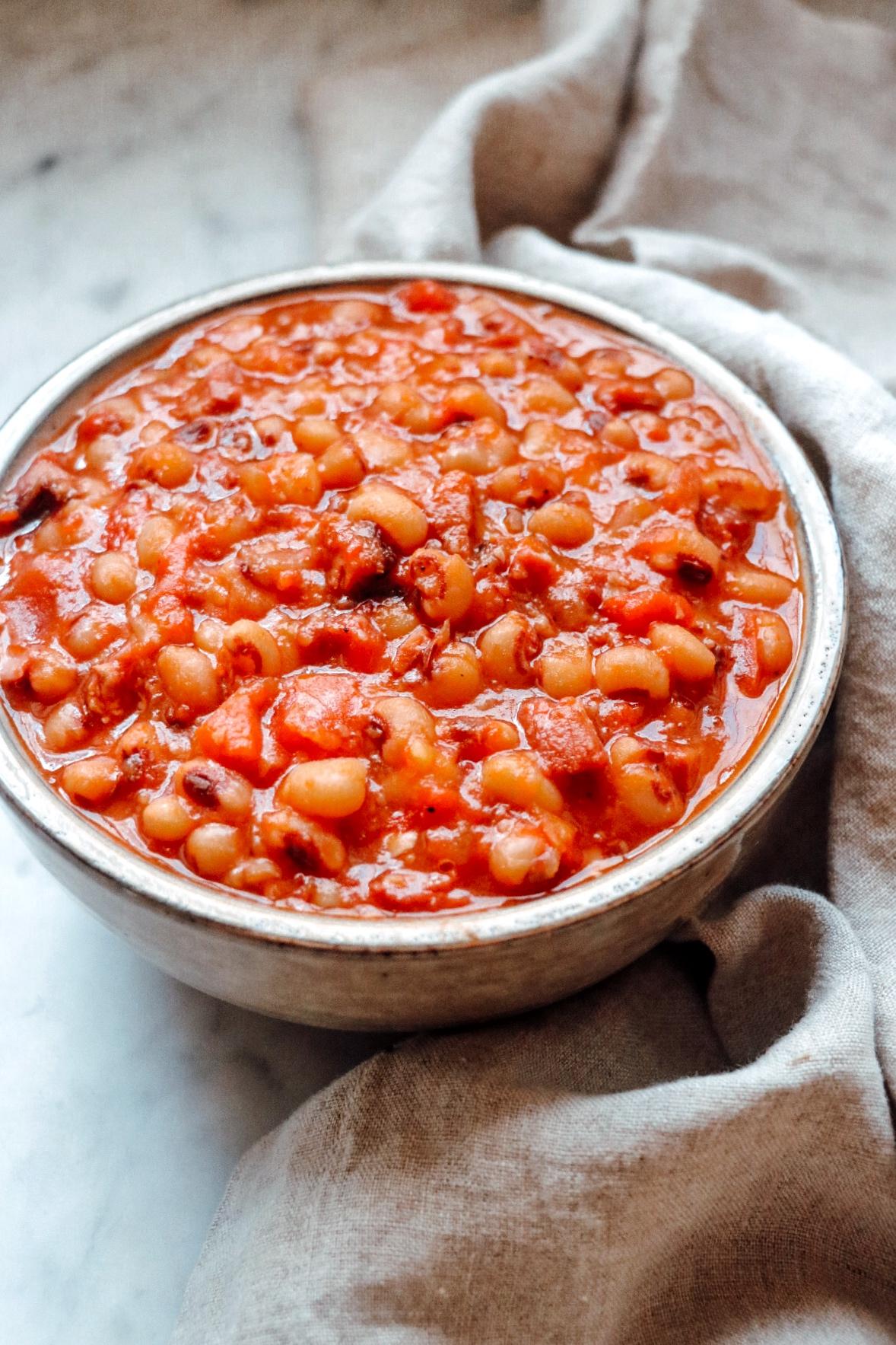 Instant Pot® Black-Eyed Peas and Ham