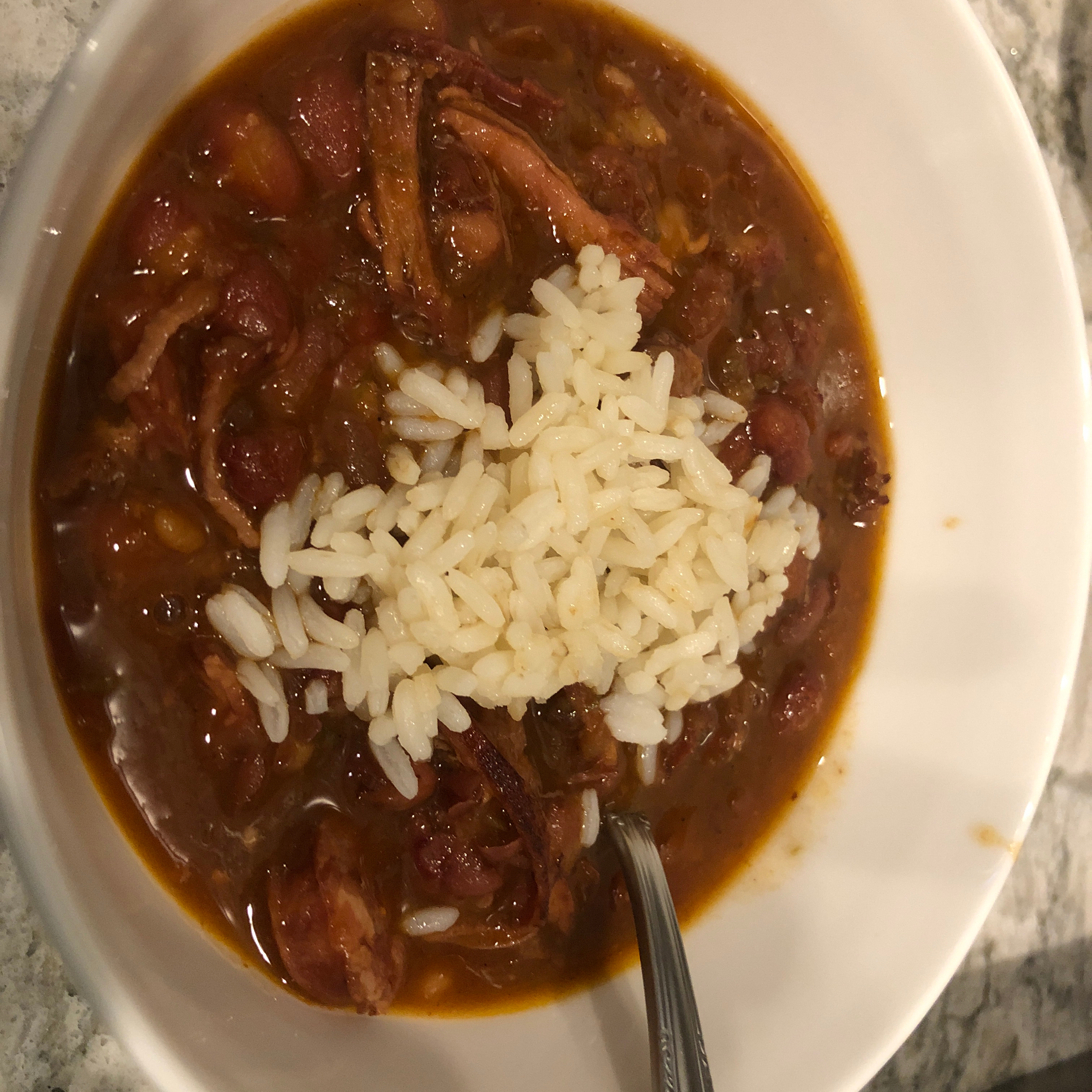 My Red Beans and Rice