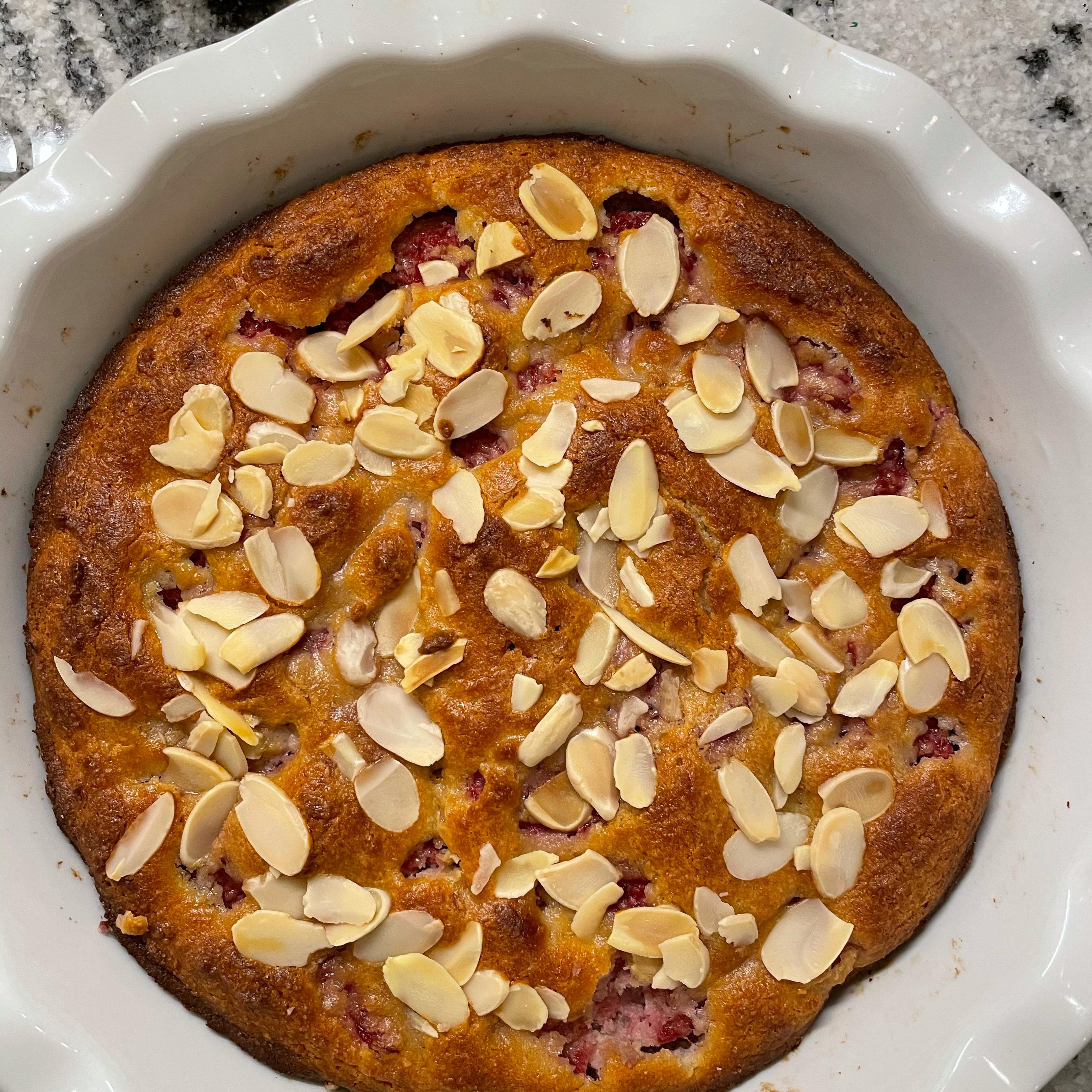 Raspberry Almond Coffeecake
