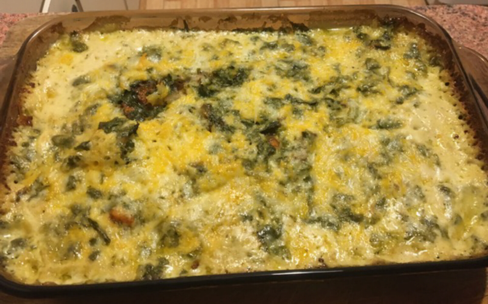 Spinach Potatoes LeeLee