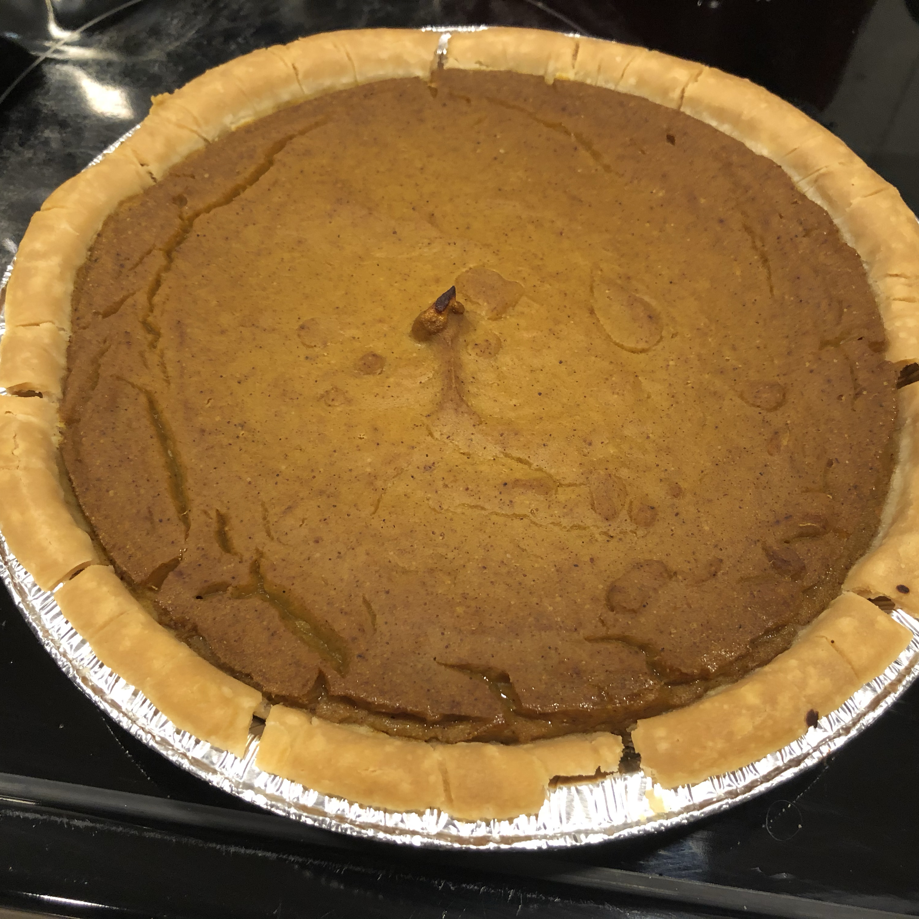 Vegan Pumpkin Pie tasha