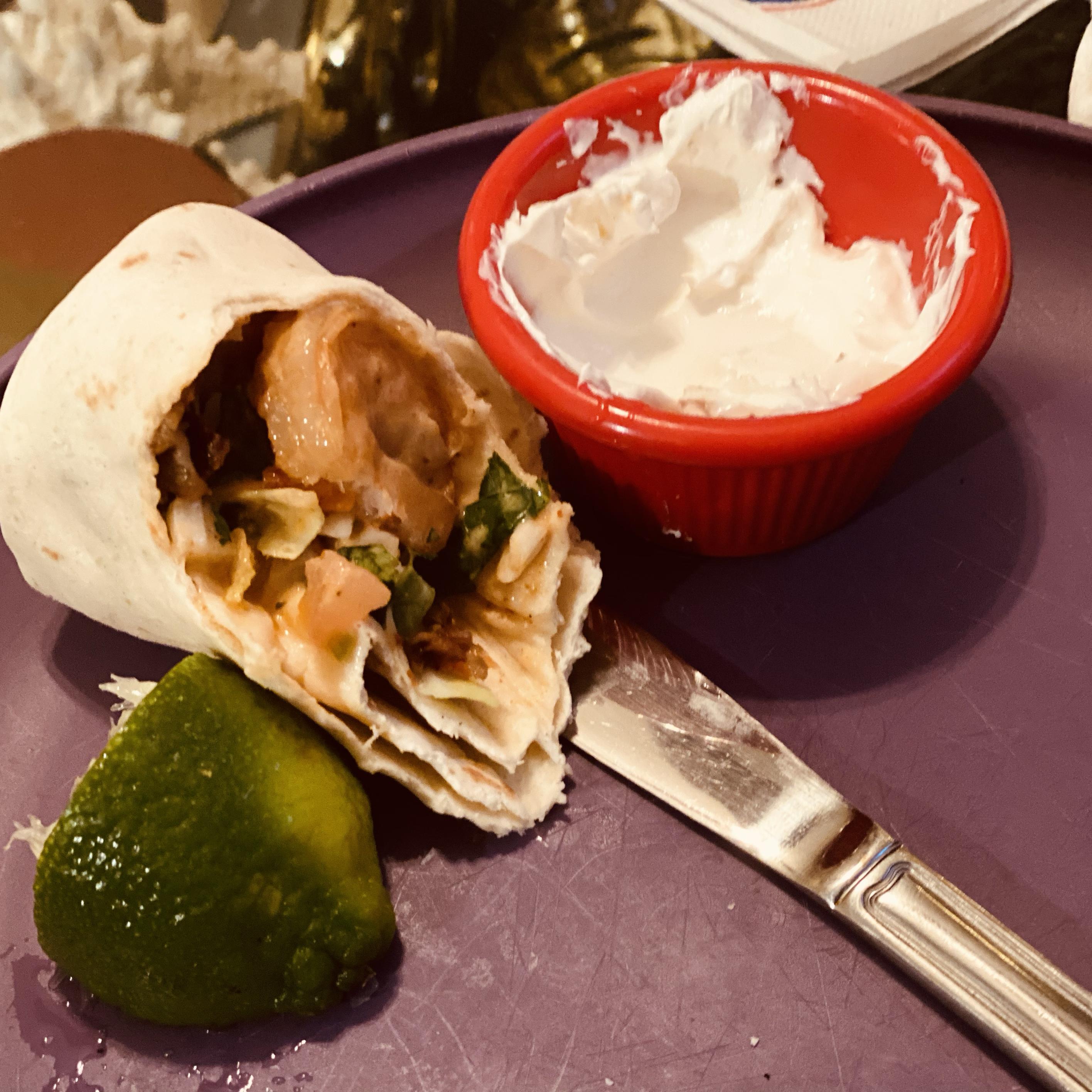 Chipotle Shrimp Tacos JLyons
