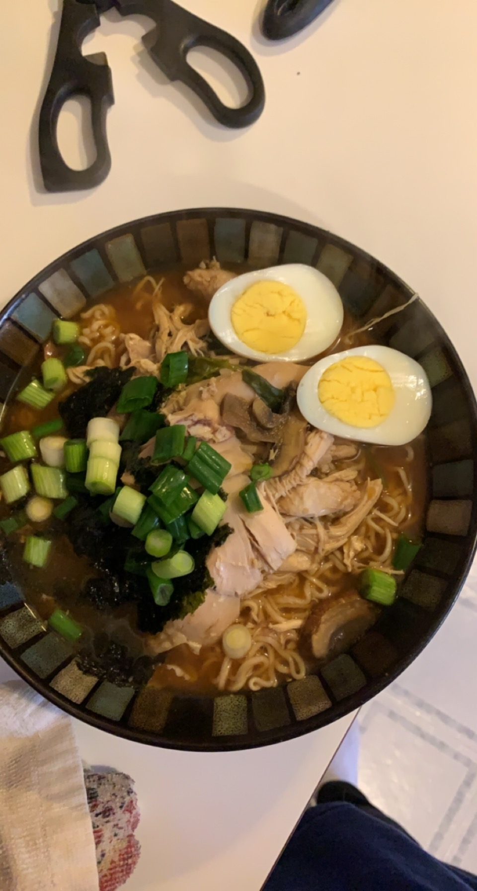 Easy, Spicy Chicken Ramen Noodle Soup Michelle Mayberry