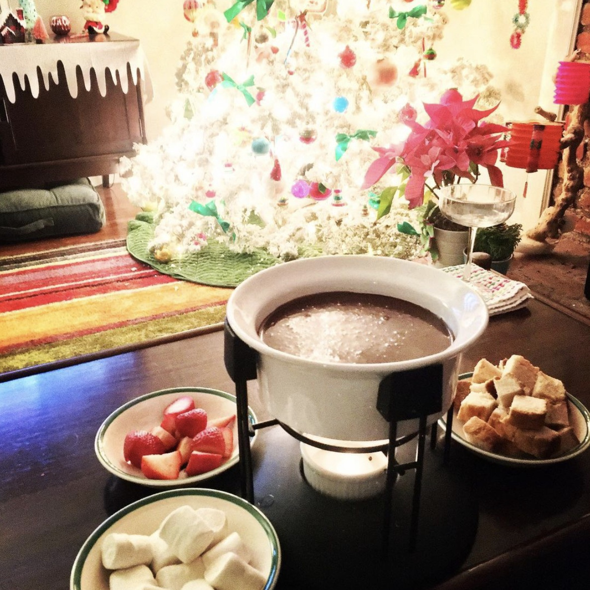 EAGLE BRAND® Chocolate Fondue