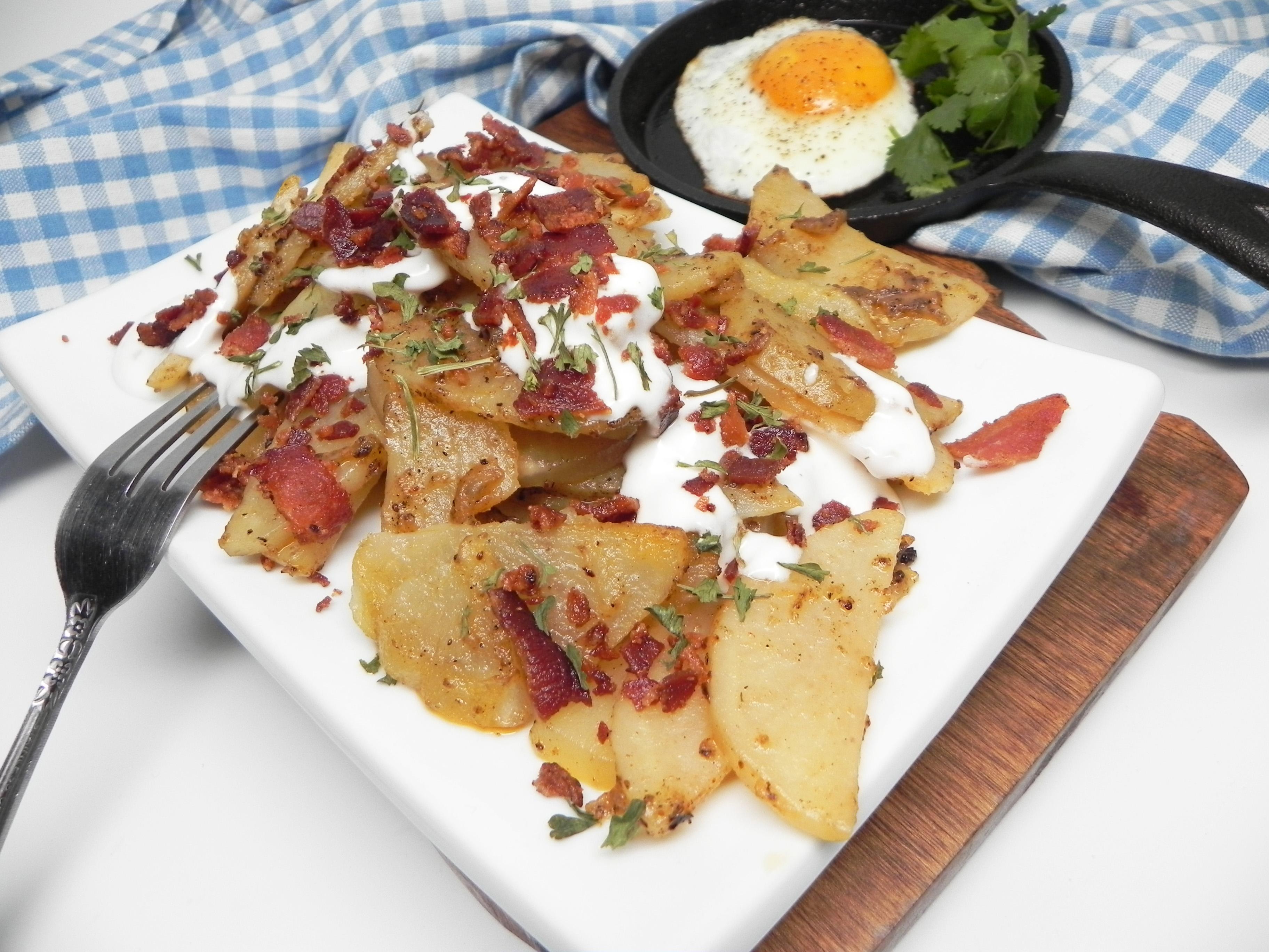 Bacon-Fried Breakfast Potatoes