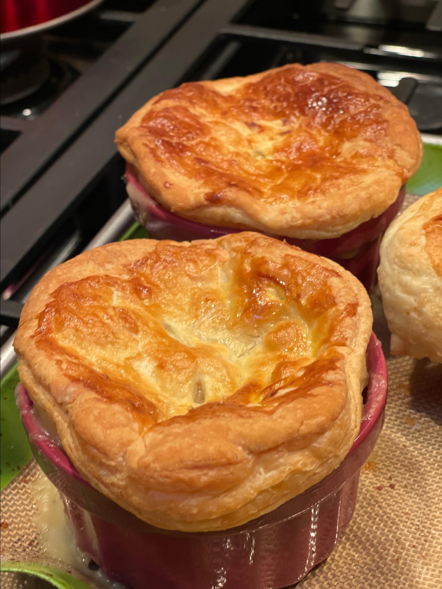 Savory Individual Chicken Pot Pies
