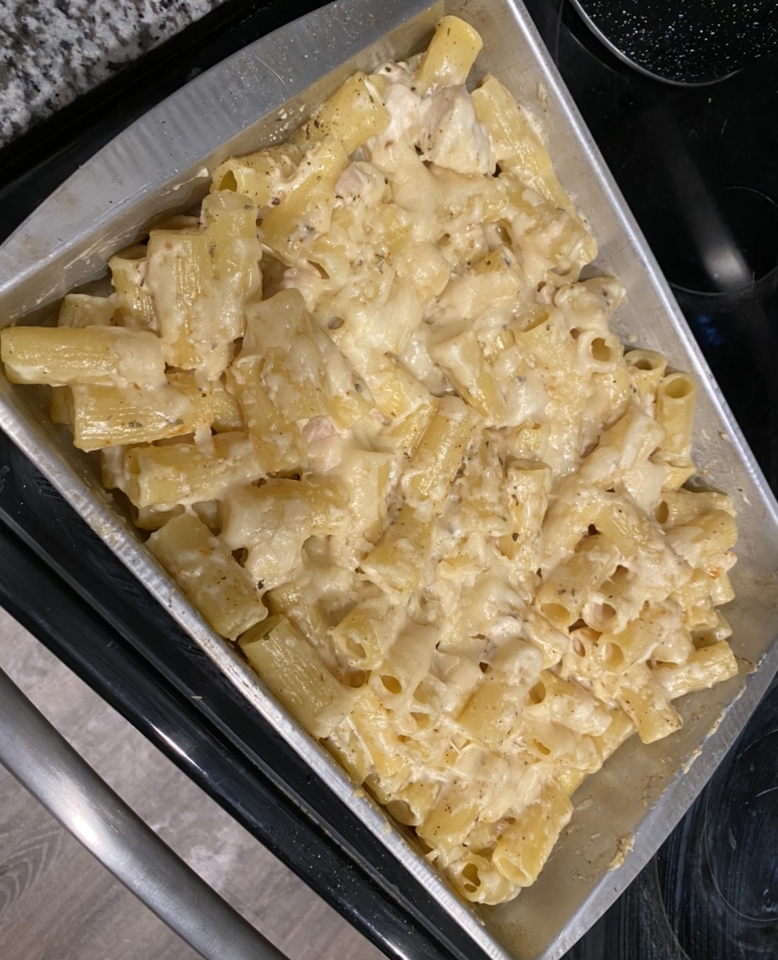 Chicken Alfredo Bake Sammi