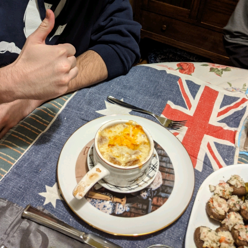 French Onion Soup Gratinee M K Tymbrandt