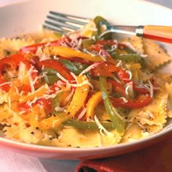 Cheese Ravioli with Three Pepper Topping Allrecipes Trusted Brands