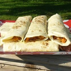 Red Beans and Rice Burrito 5Foot3