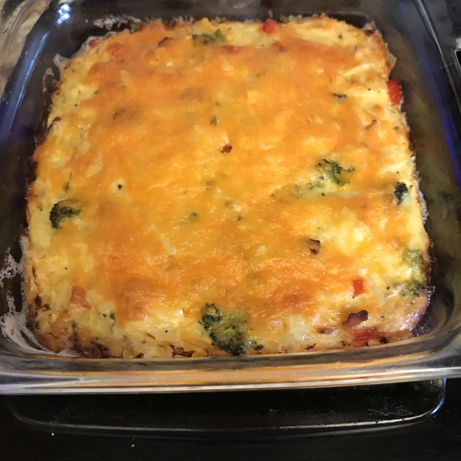 Easy Breakfast Casserole from Country Crock® Maureen