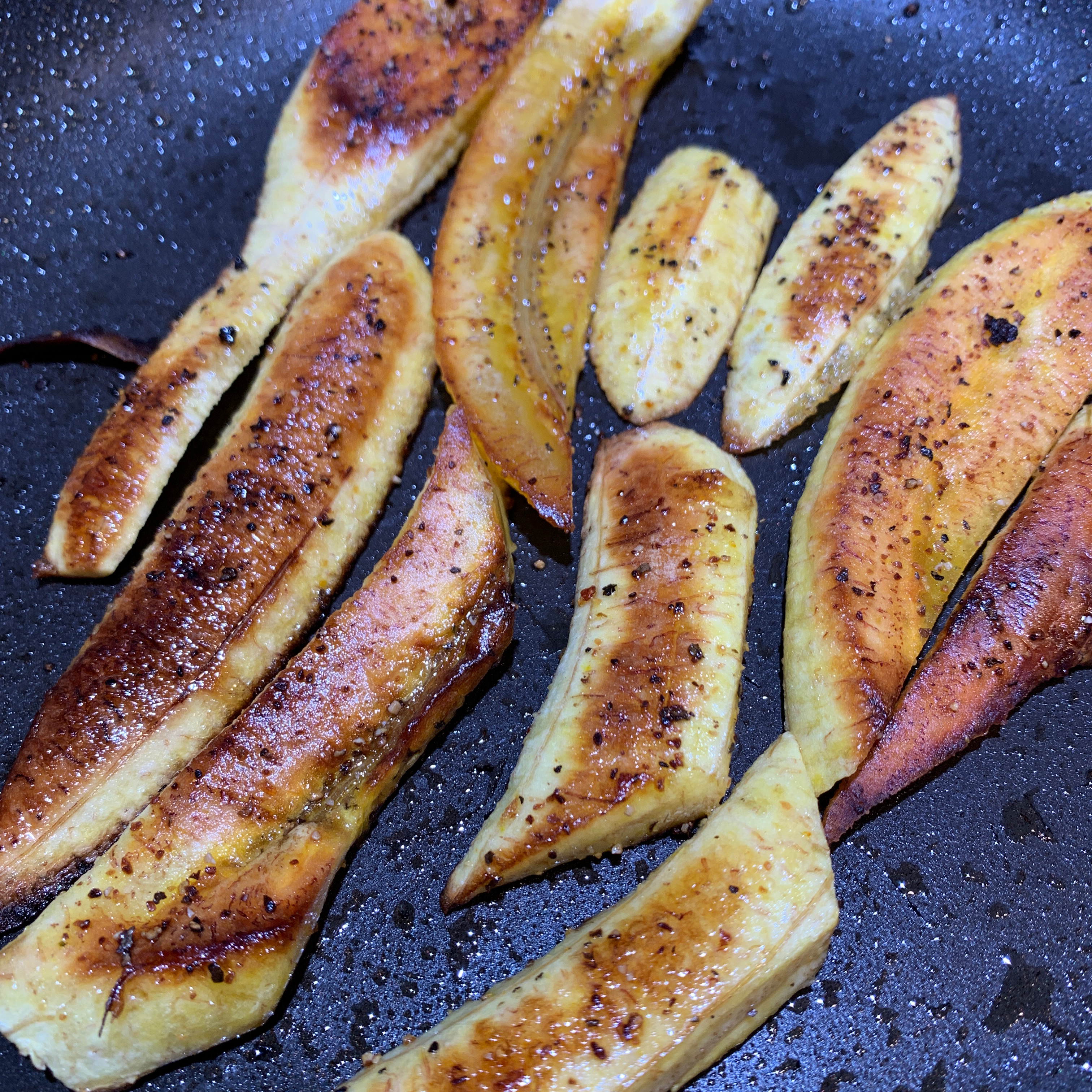 Sweet and Savory Fried Plantains Photowench