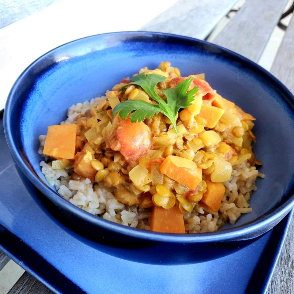 Indian-Inspired Lentil Stew