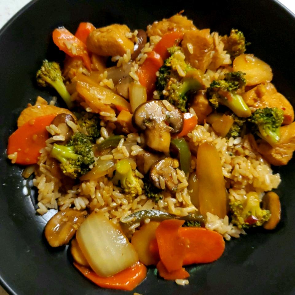 Chicken Stir-Fry Brian M