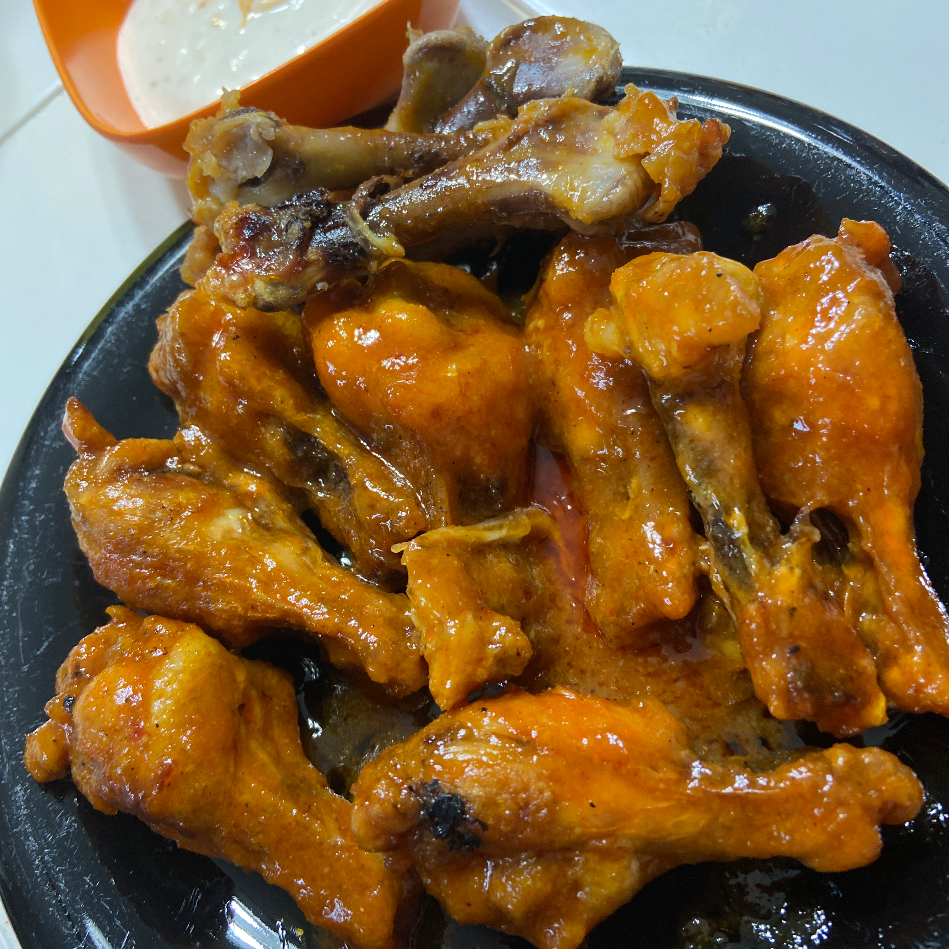Home-Style Buffalo Wings no one