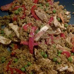 Curried Quinoa taush