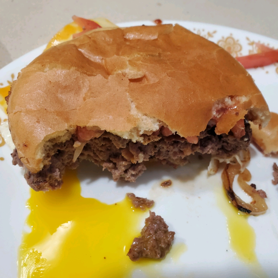 Venison Bacon Burgers Edward Quigley