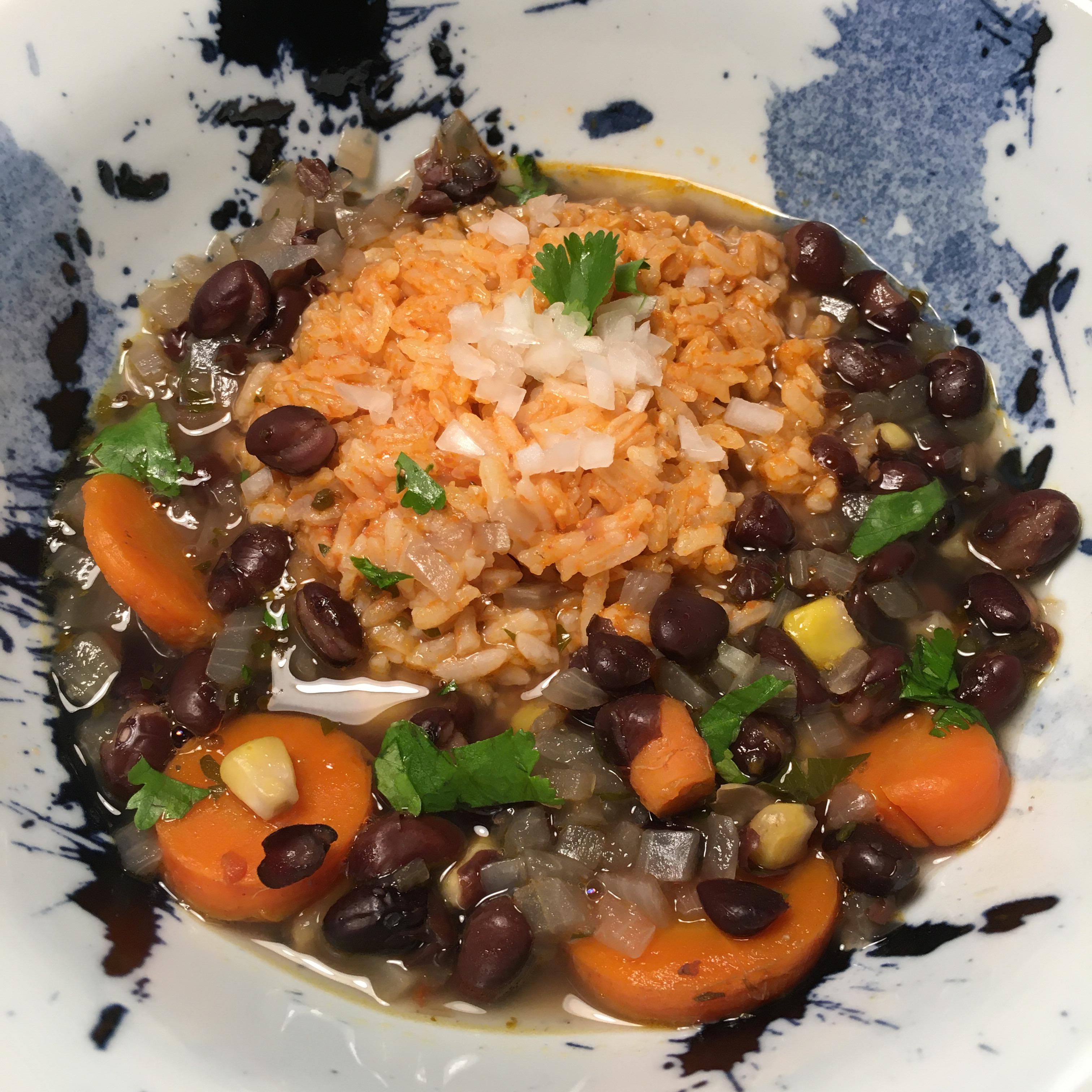 Quick Spicy Black Bean Soup Bobby Bats