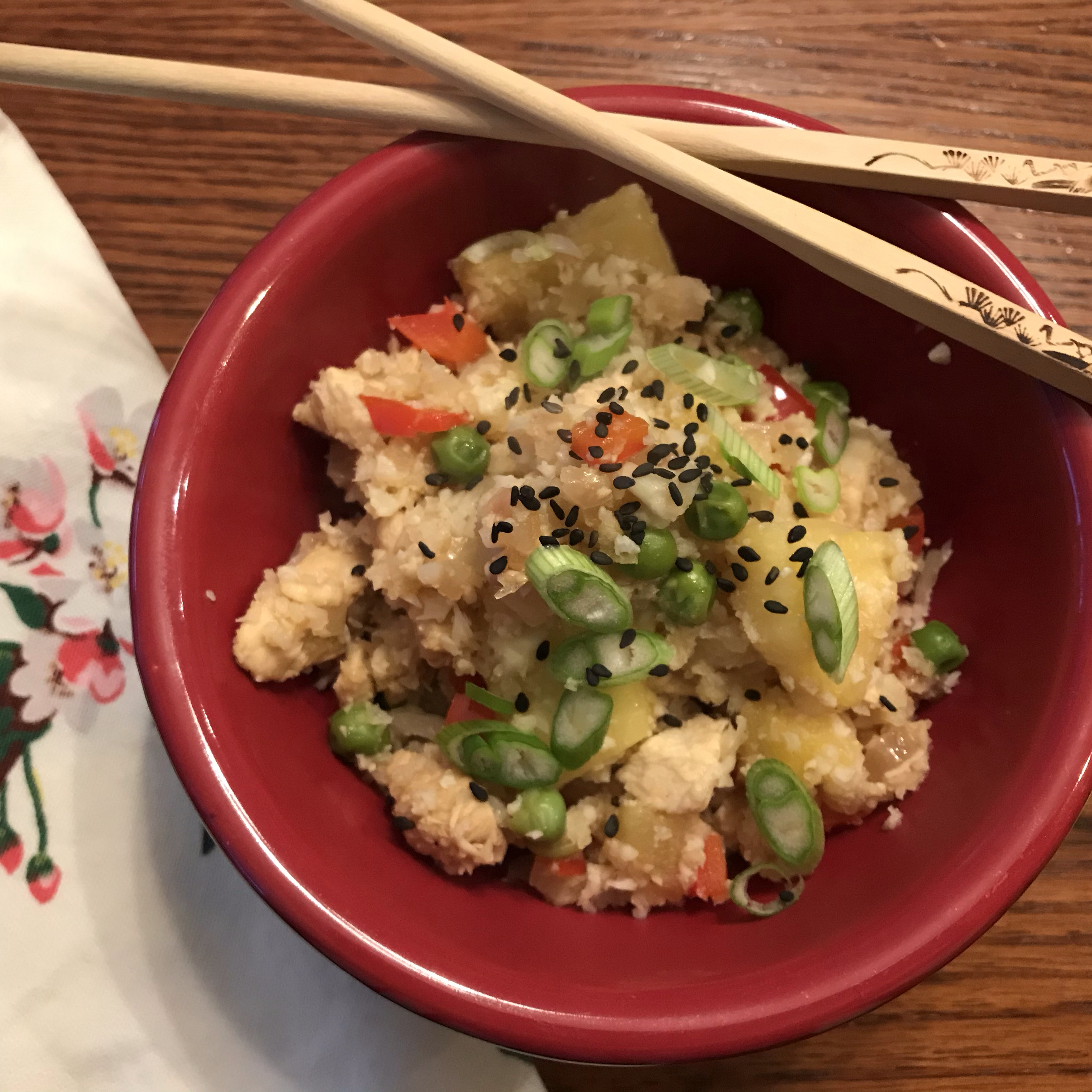 Quick and Easy Pineapple Fried Rice Stacy Bedard Zmuda