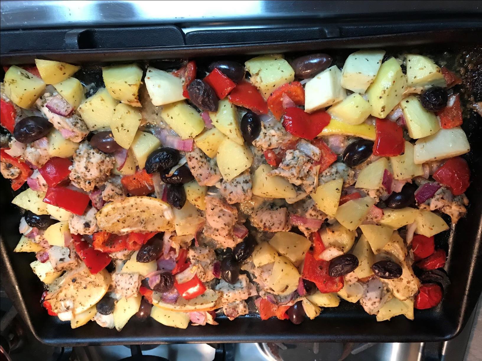 Easy Sheet Pan Greek Chicken Gregg Jesperson