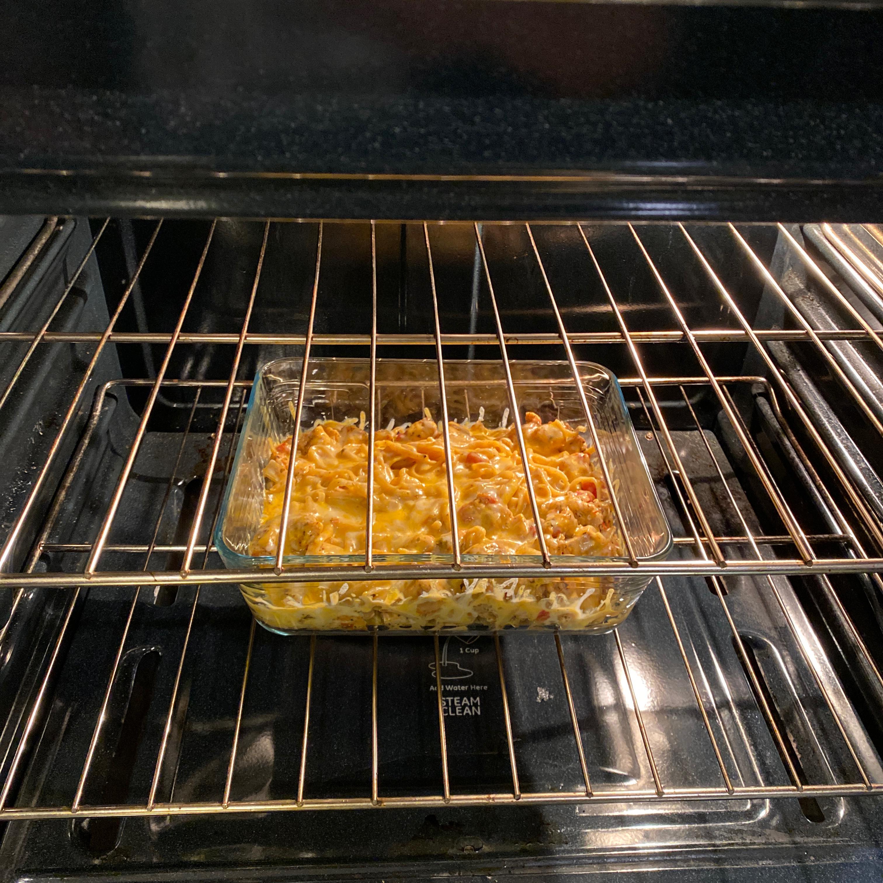 Oven-Baked Chicken Linguine Sean