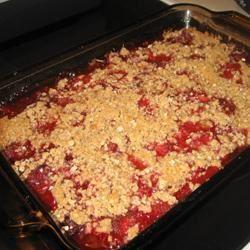 Rhubarb Strawberry Cake Dawne B