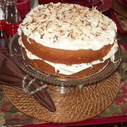 Cream of Coconut Cake Corinne