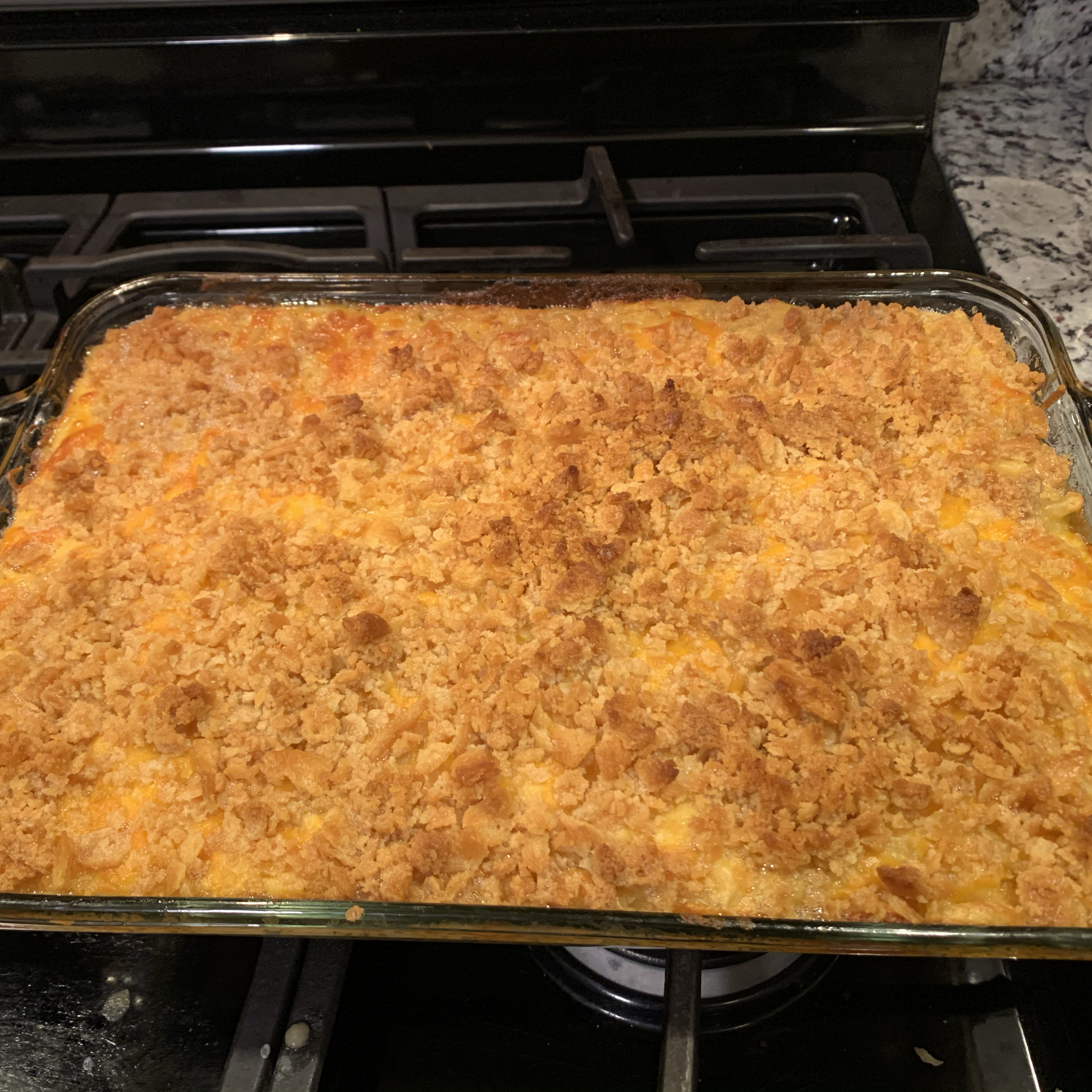Baked Macaroni and Cheese! Chizzy