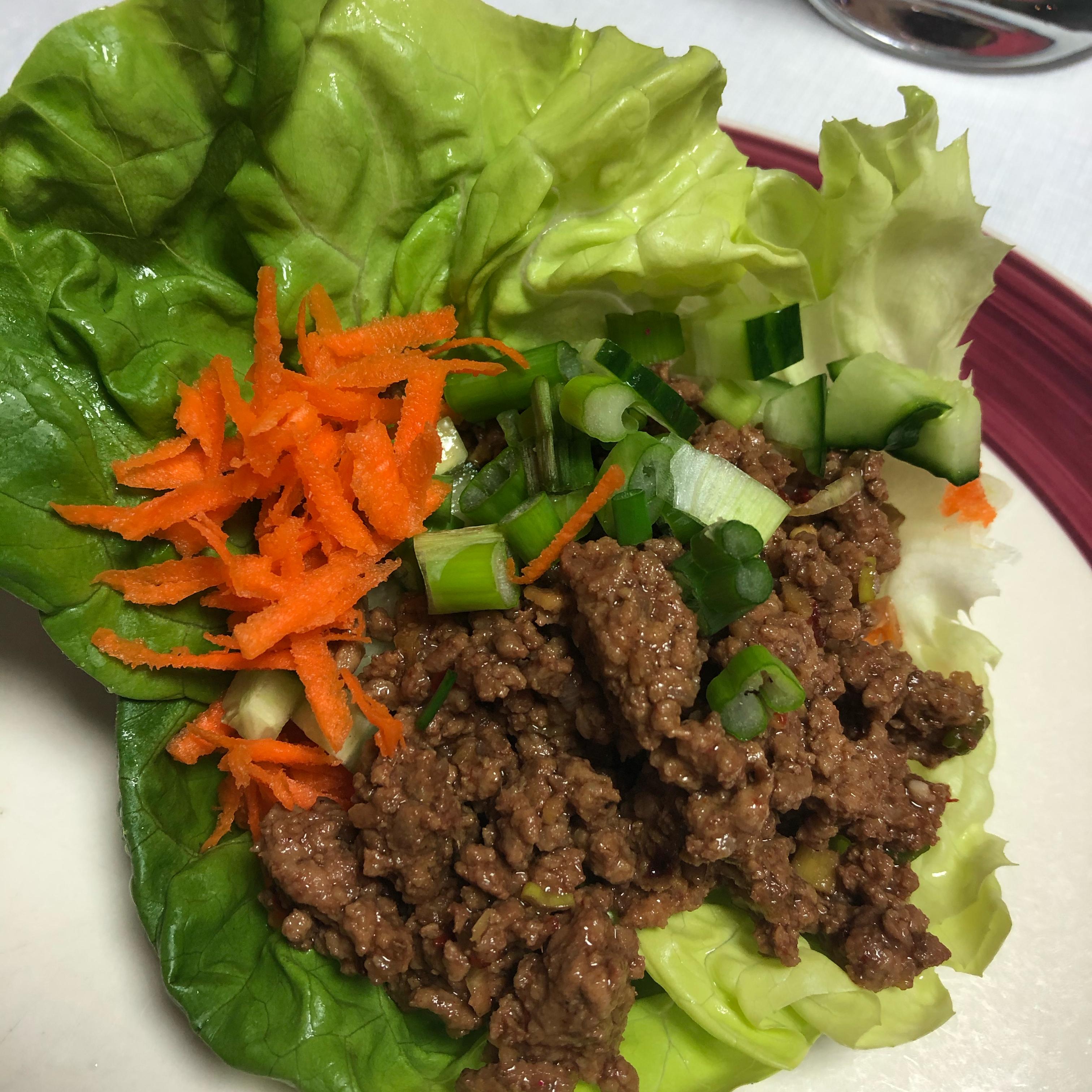 Vegan Asian Lettuce Wraps laurenlee