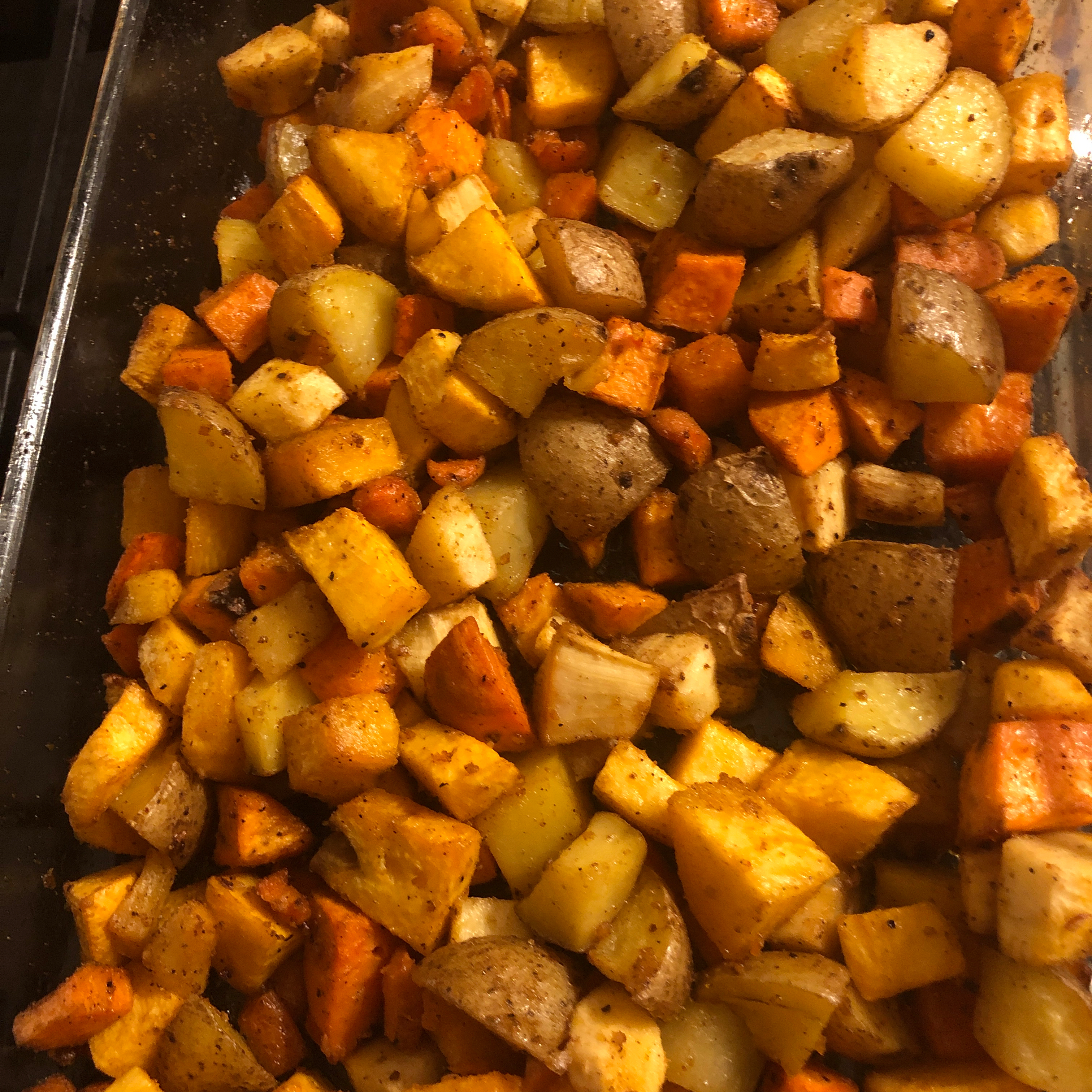 Absolutely Delicious Baked Root Vegetables Heidi Lichon