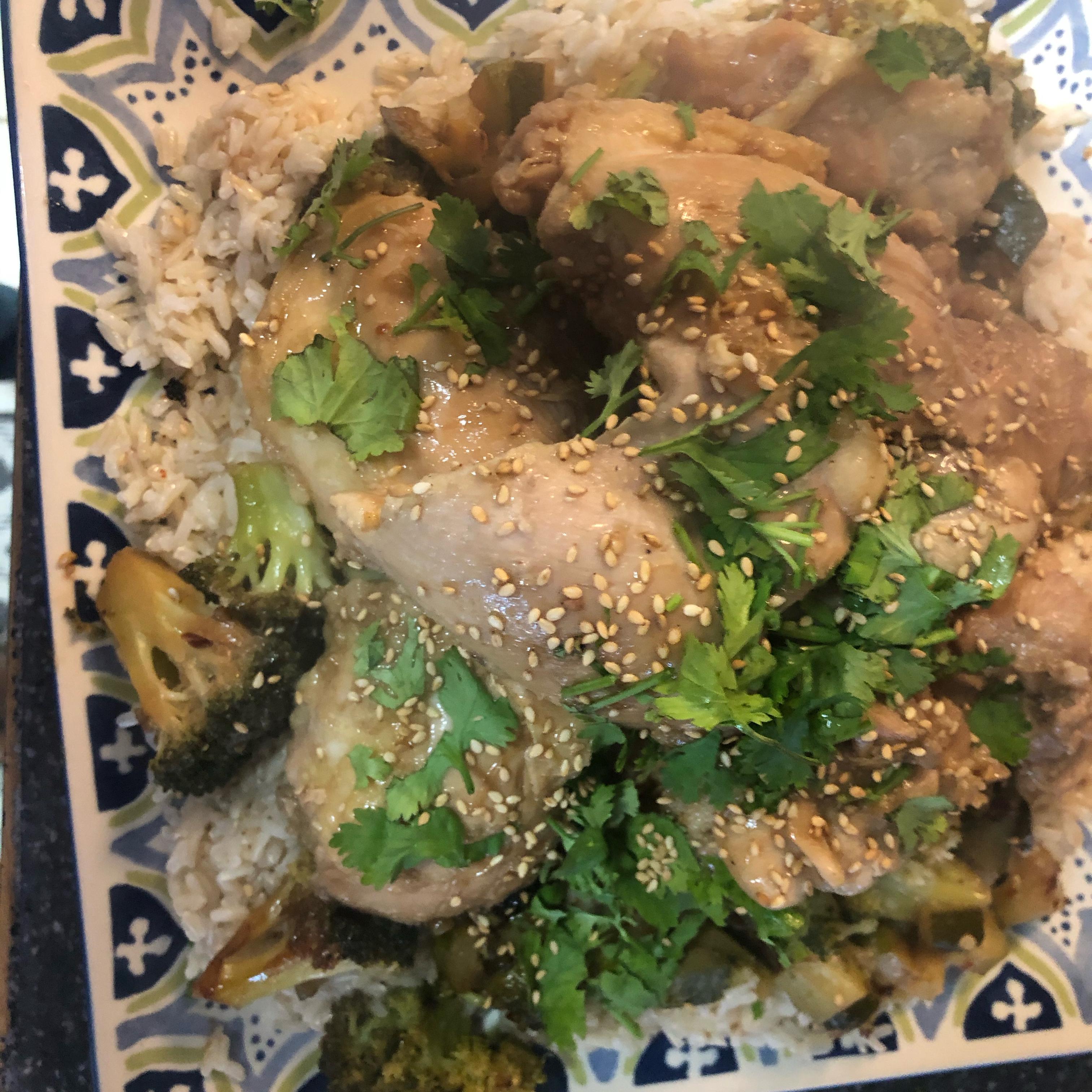 Honey-Garlic Chicken Thighs
