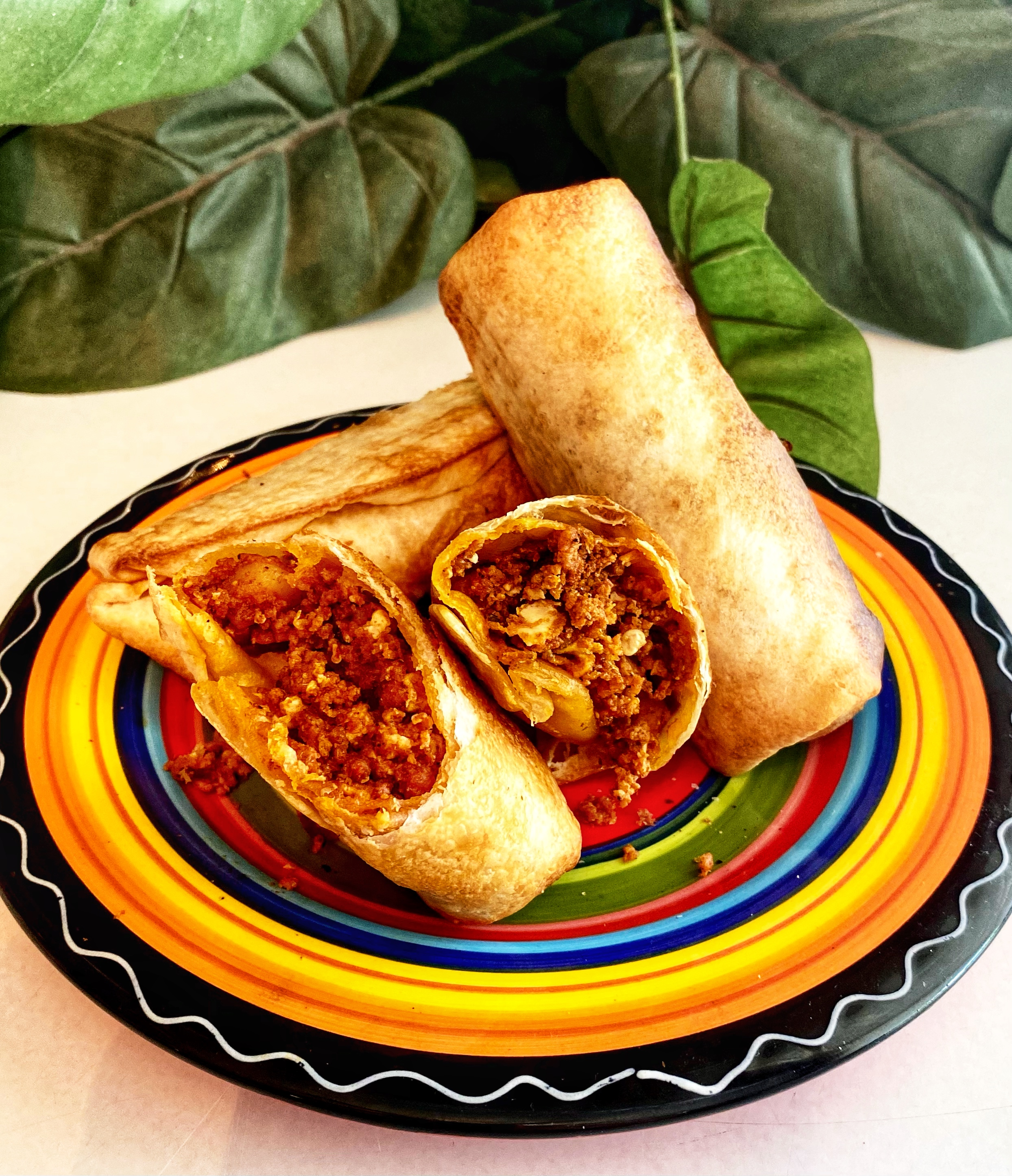 Air Fryer Mini Breakfast Burritos