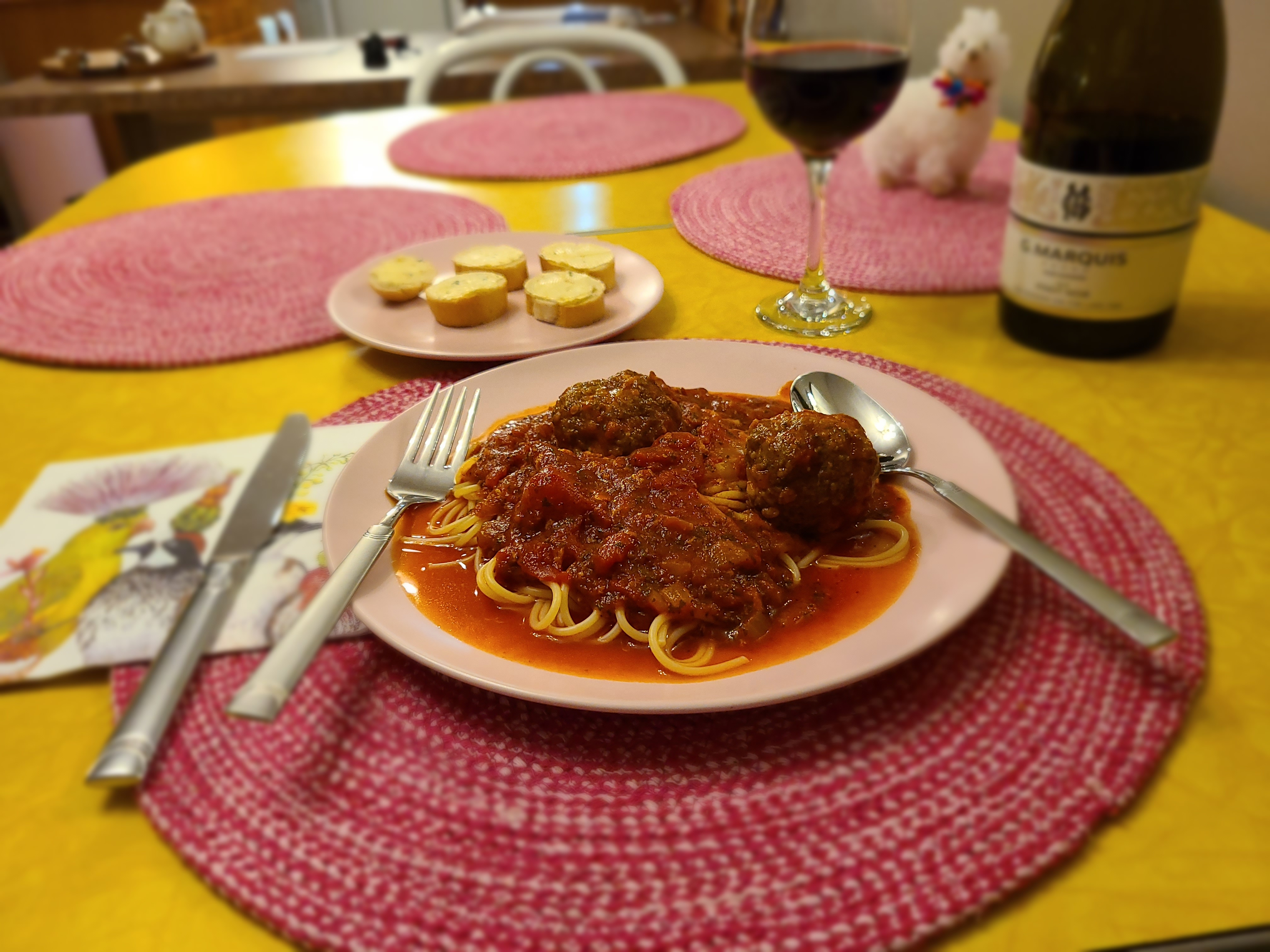 Homemade Spaghetti and Meatballs Liz Kadziolka