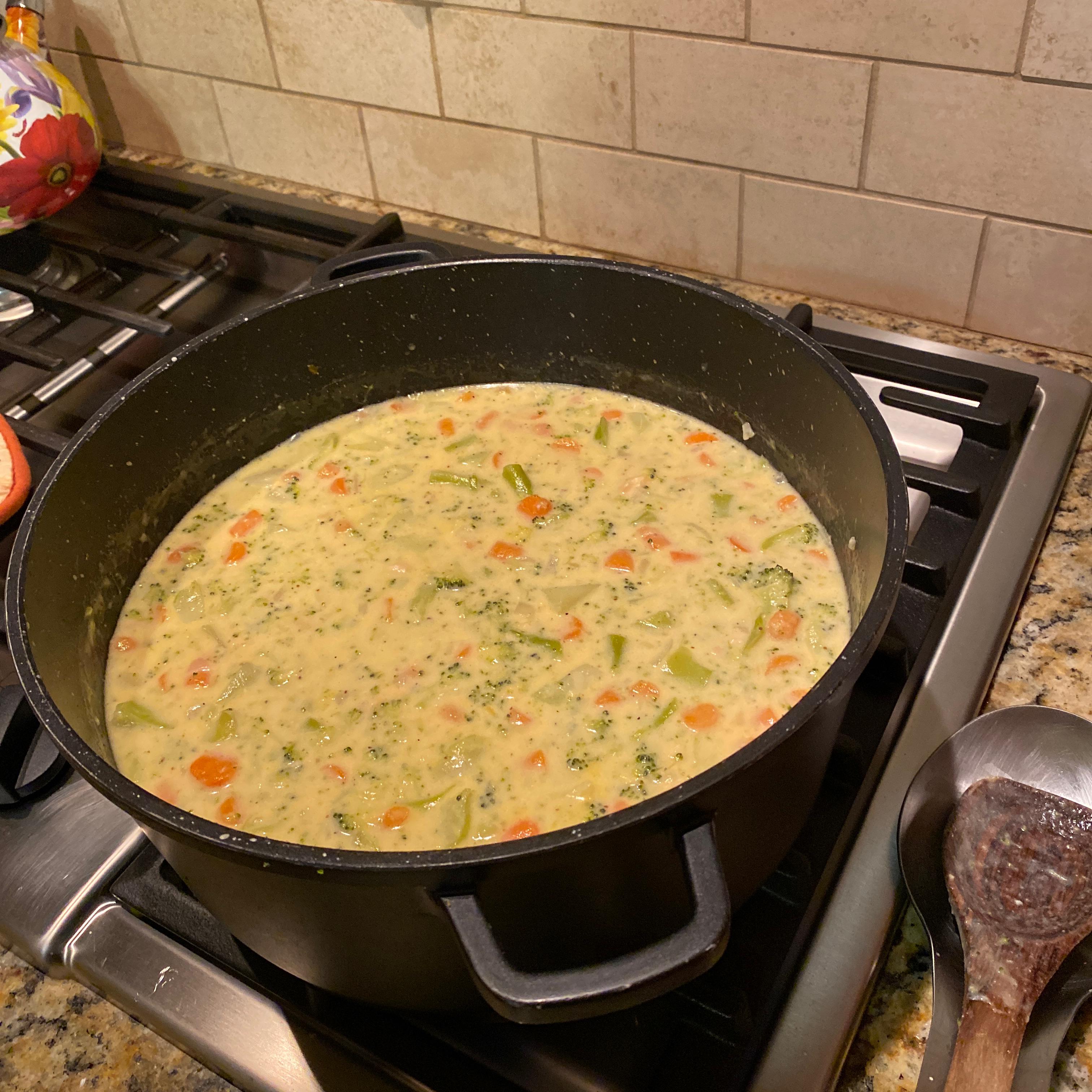 Mom's Broccoli Cheese Soup jenny stone