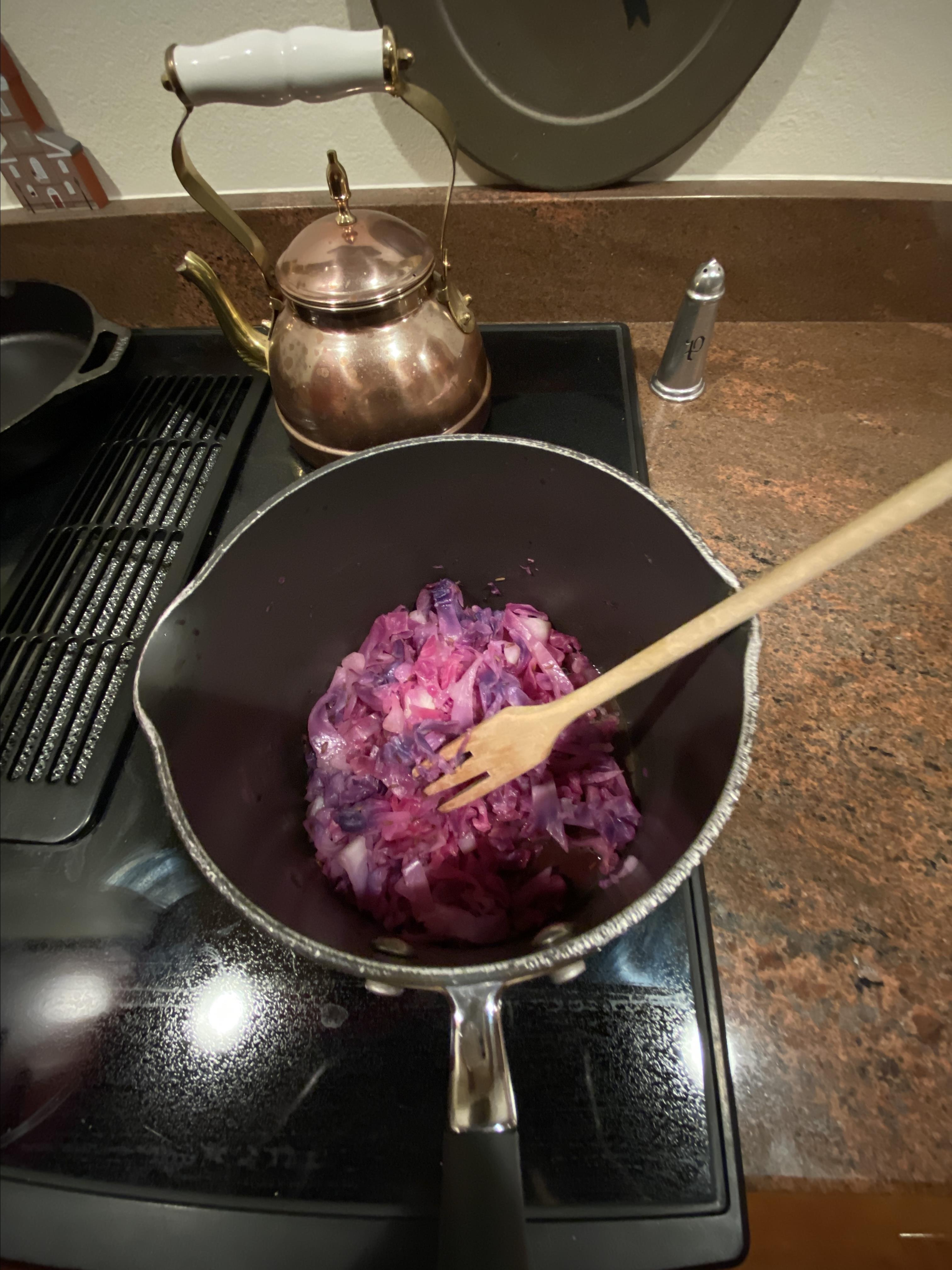 Sweet and Sour Red Cabbage Maureen Flaherty