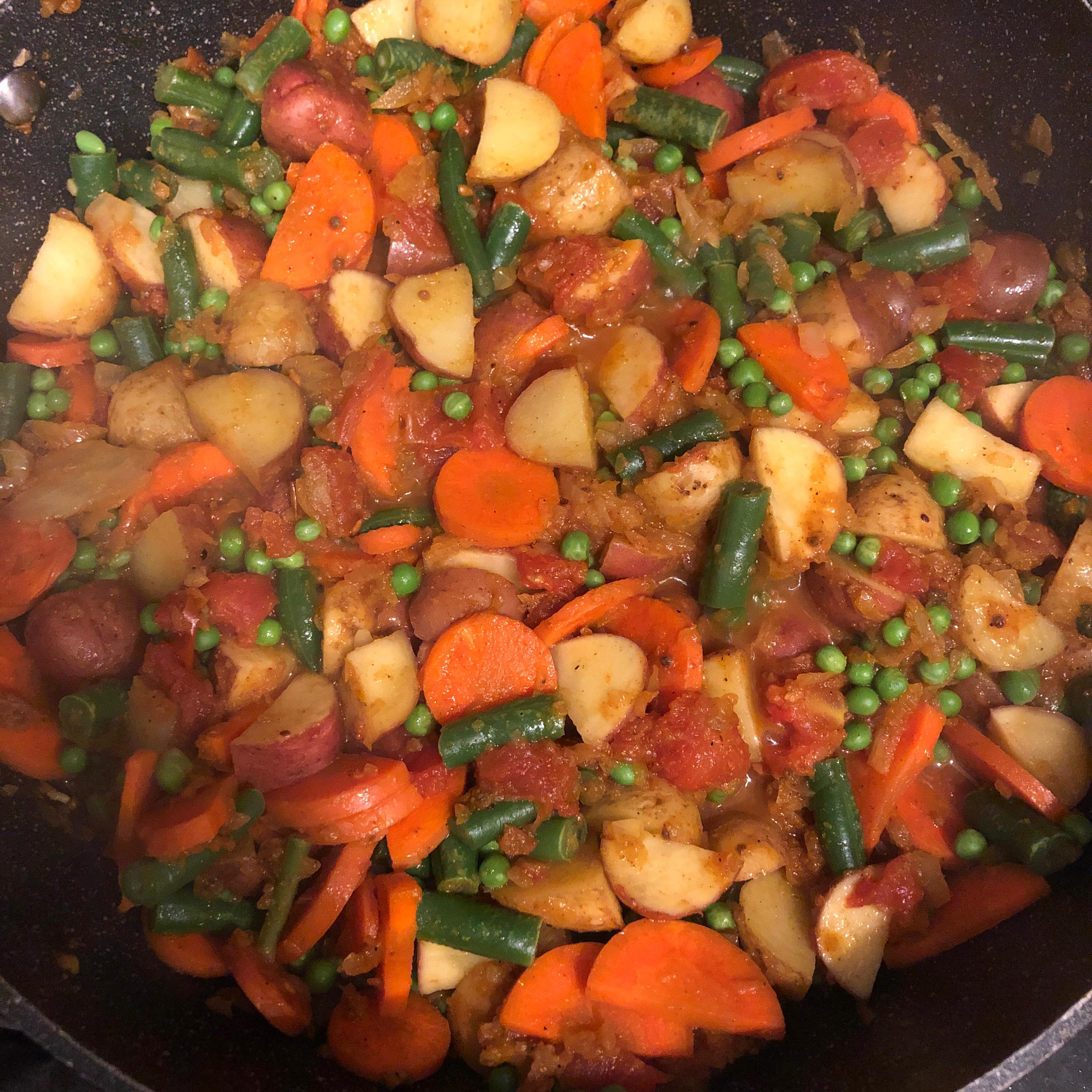 Vegetable Masala