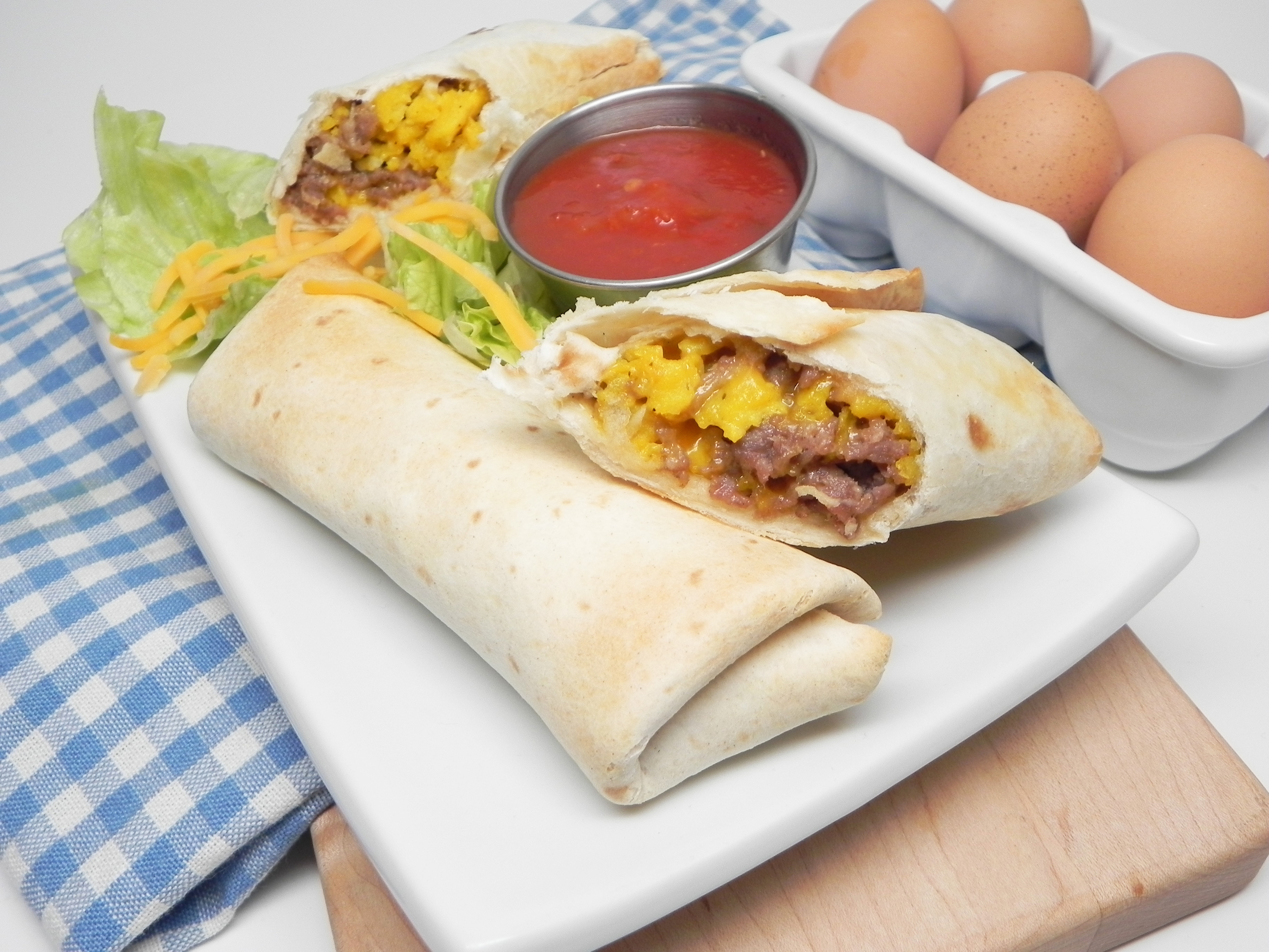 Make-Ahead Air Fryer Breakfast Burritos Soup Loving Nicole
