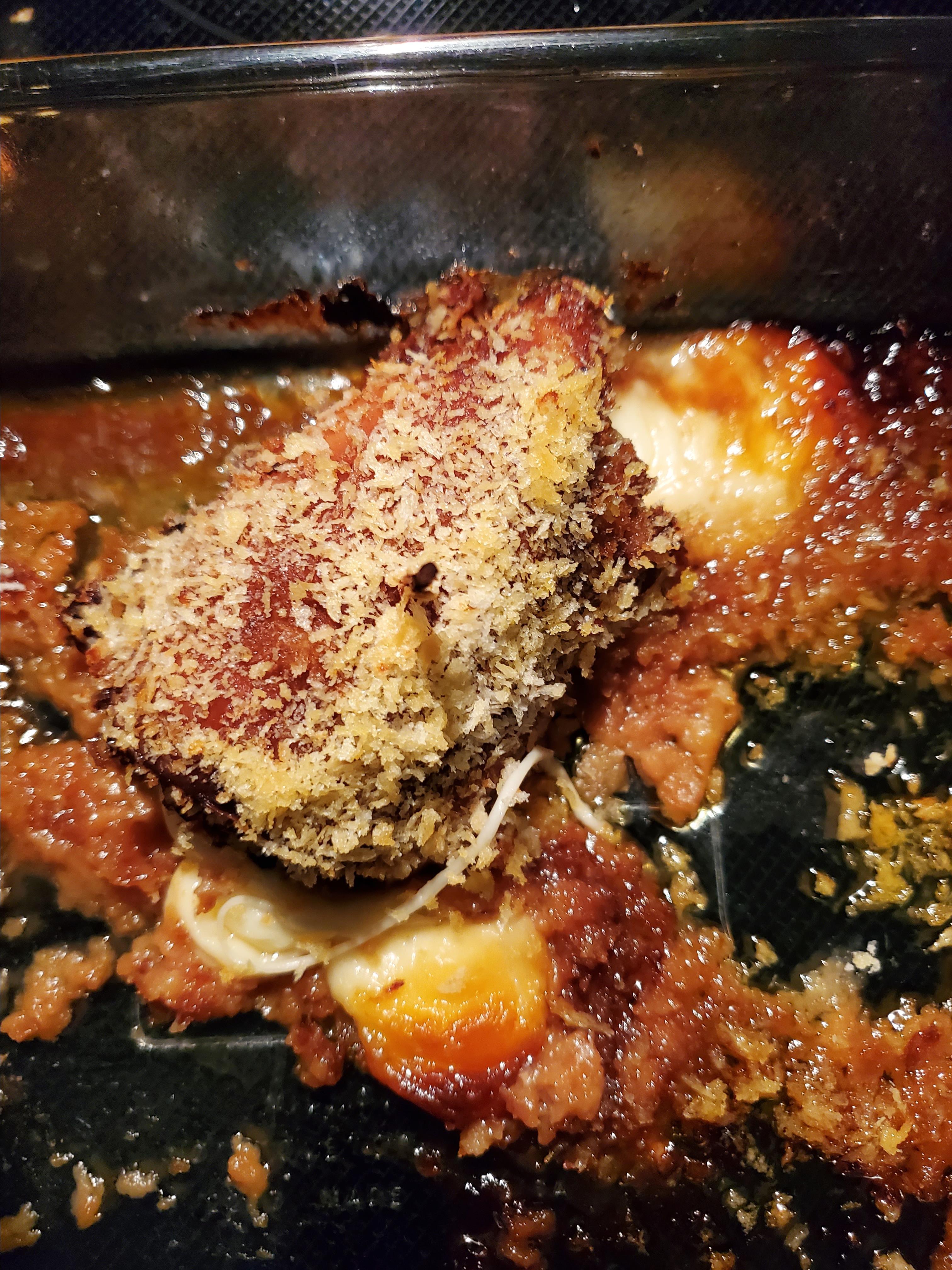 Teriyaki Chicken Cordon Bleu