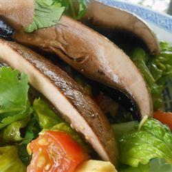 Avocado Salad with Orange-Wasabi Glazed Chicken Darren Bezanson
