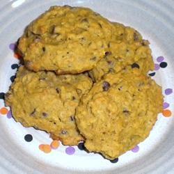 Pumpkin Oatmeal Chocolate Chip Cookies ange82