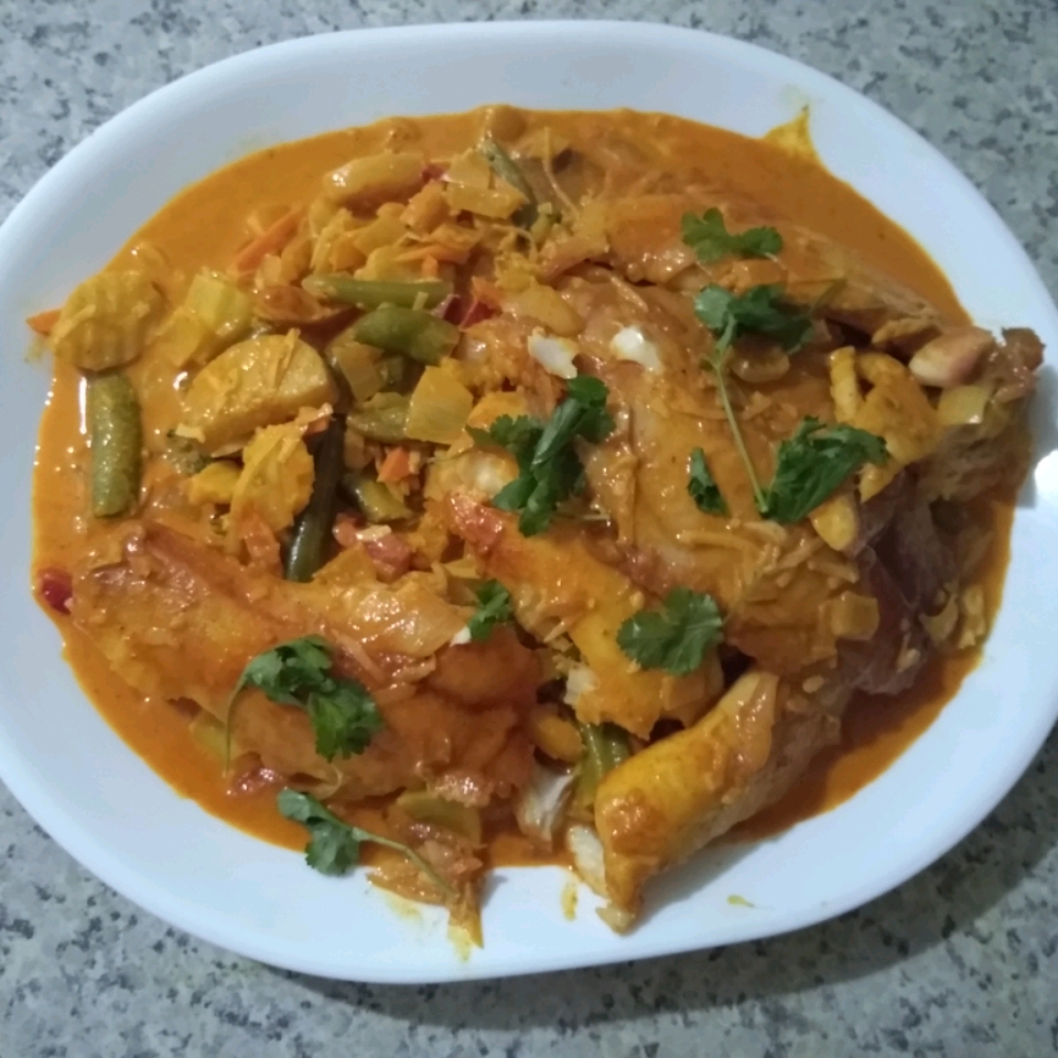 Coconut Curry Fish James