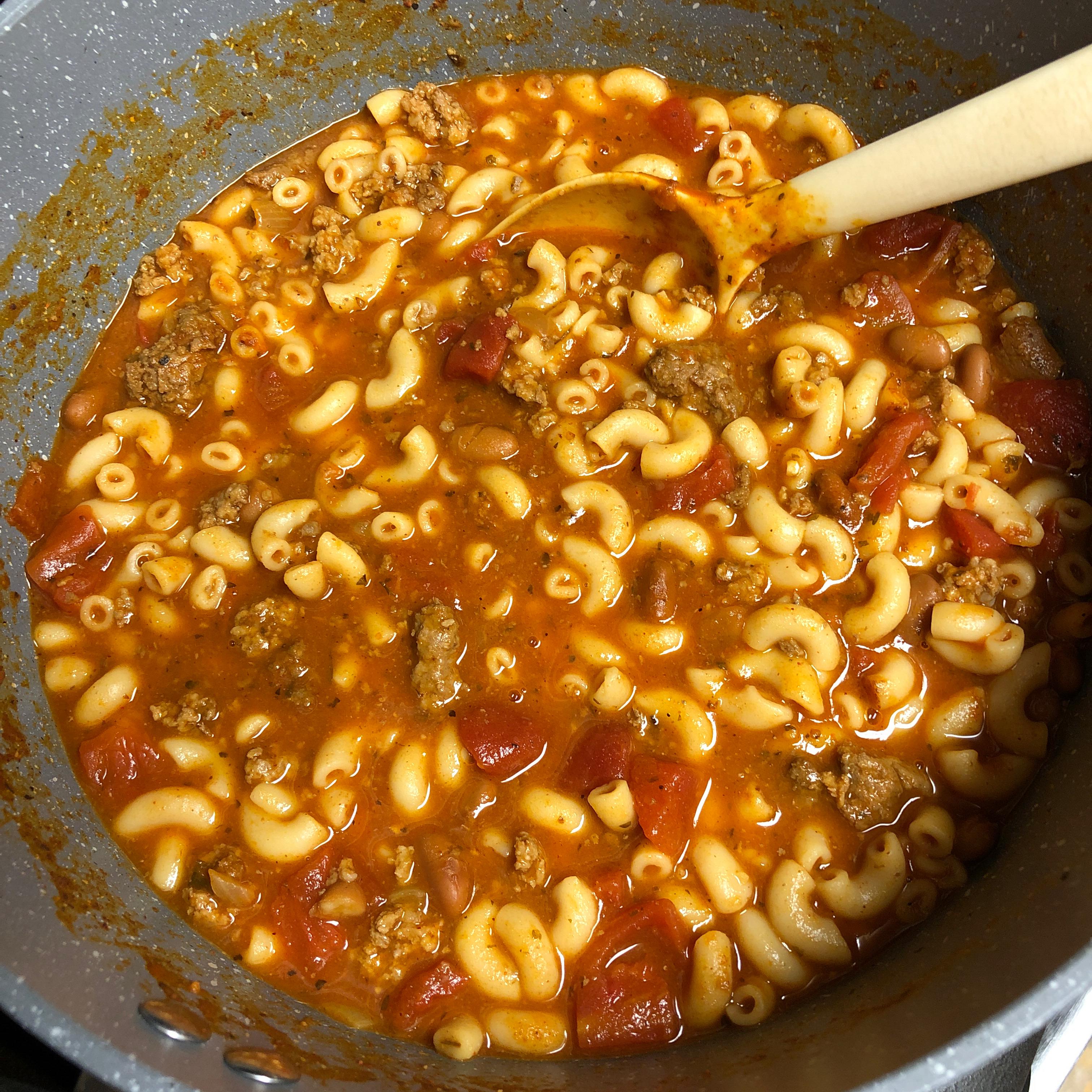 One-Pot Chili Mac and Cheese