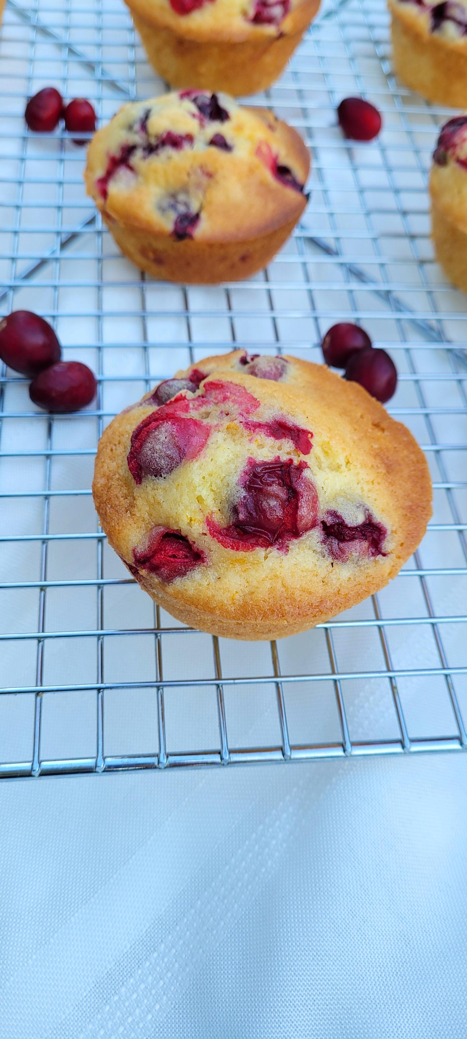 Easy Cranberry-Orange Muffins