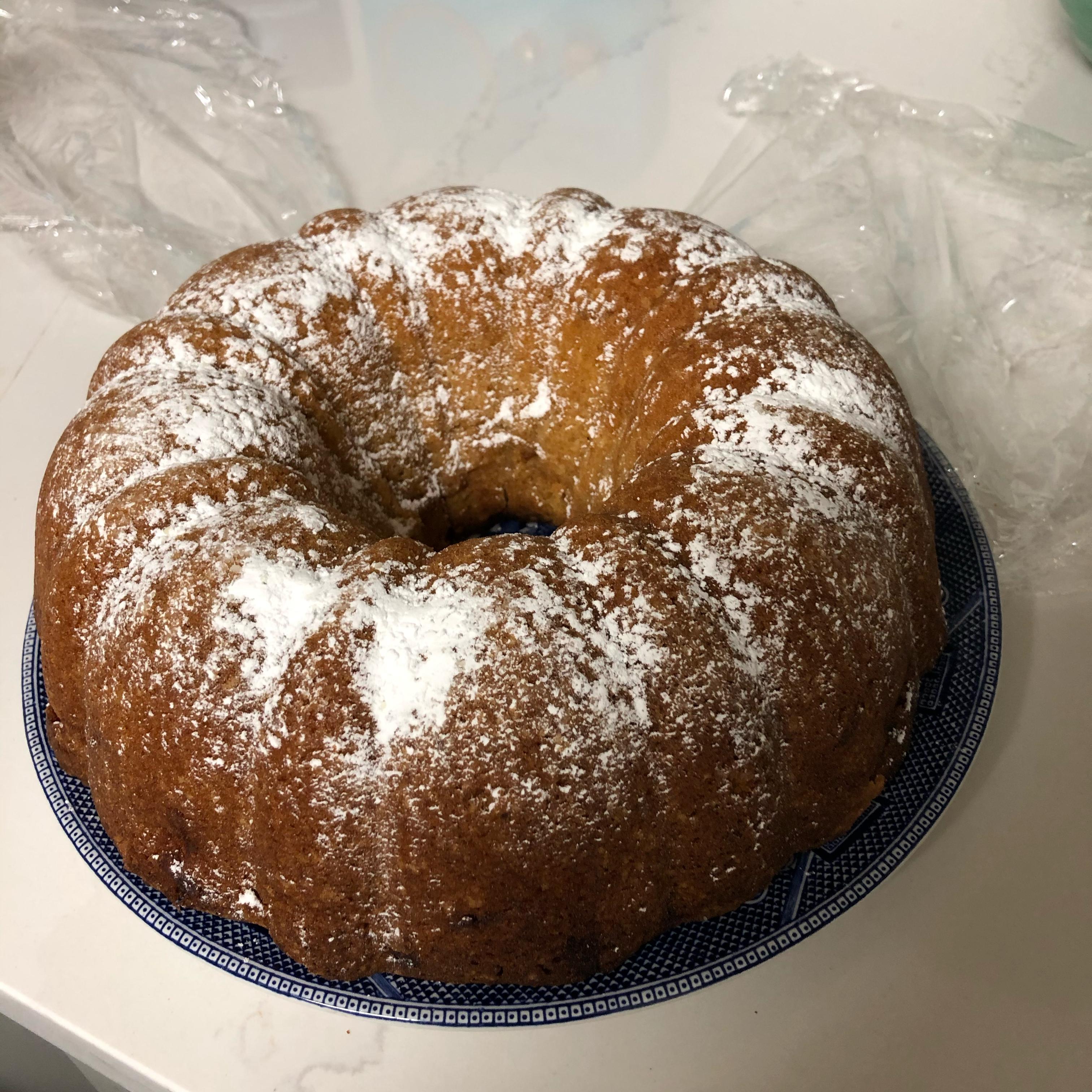 Sherry Bundt Cake Denver James