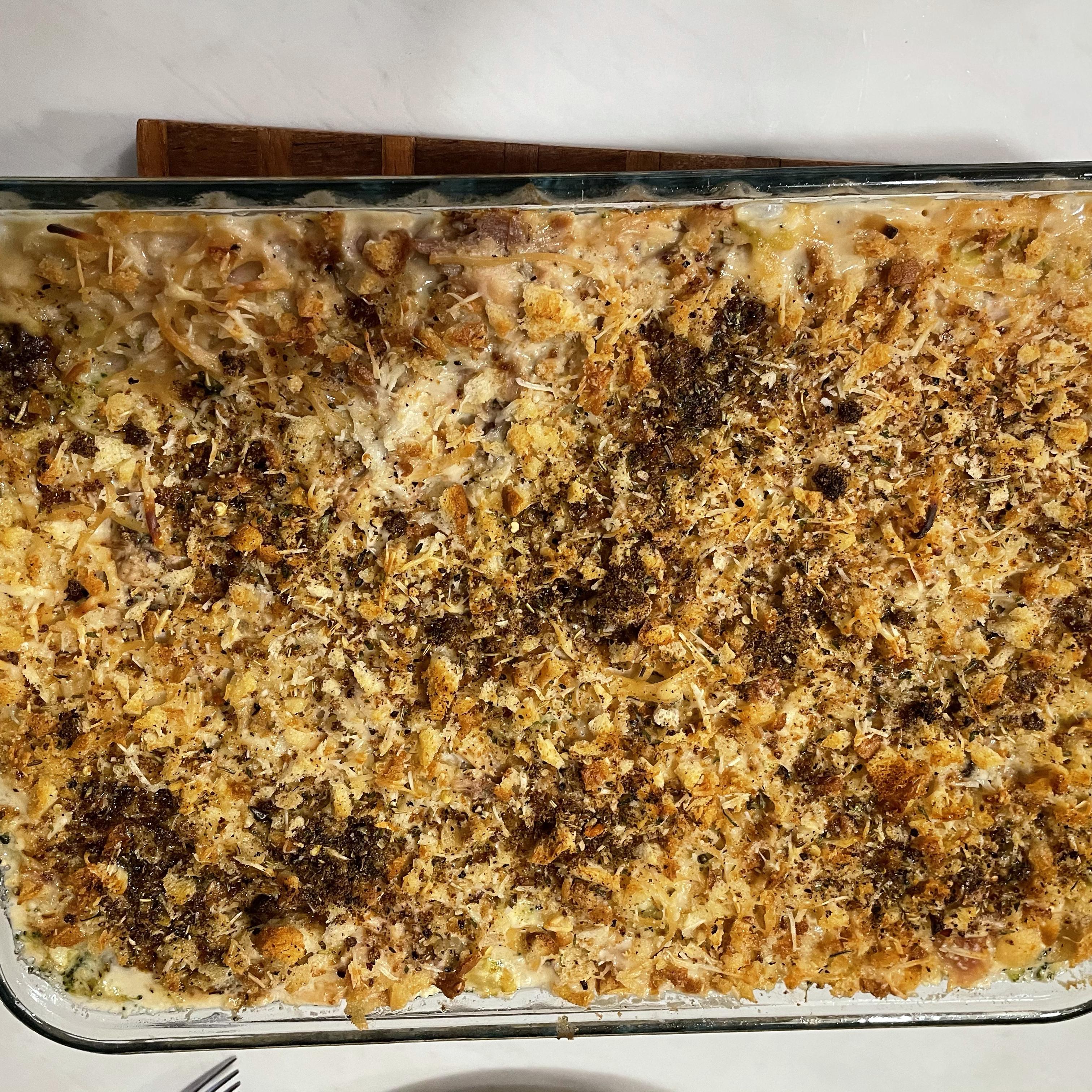 Baked Turkey Tetrazzini