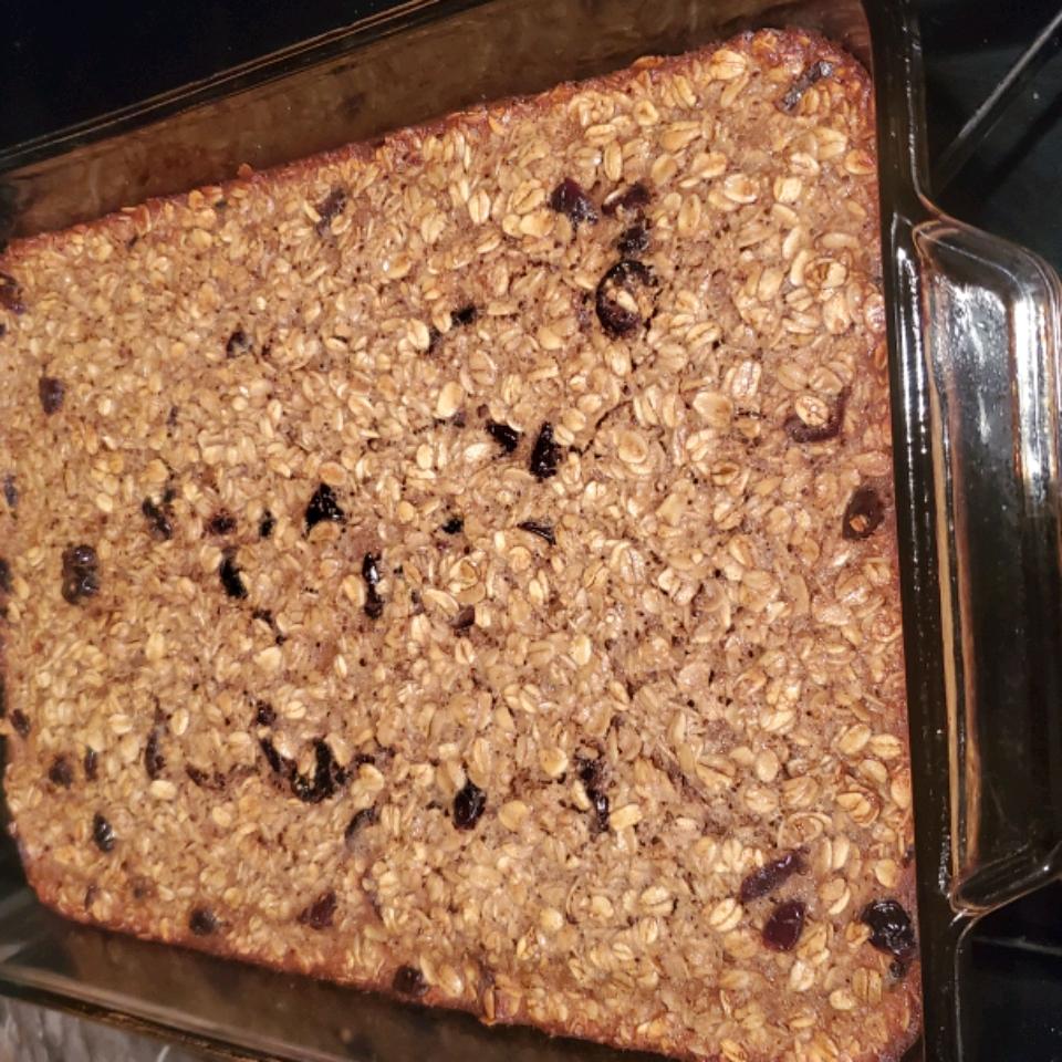 Protein Powerhouse Baked Oatmeal mariamuzzey