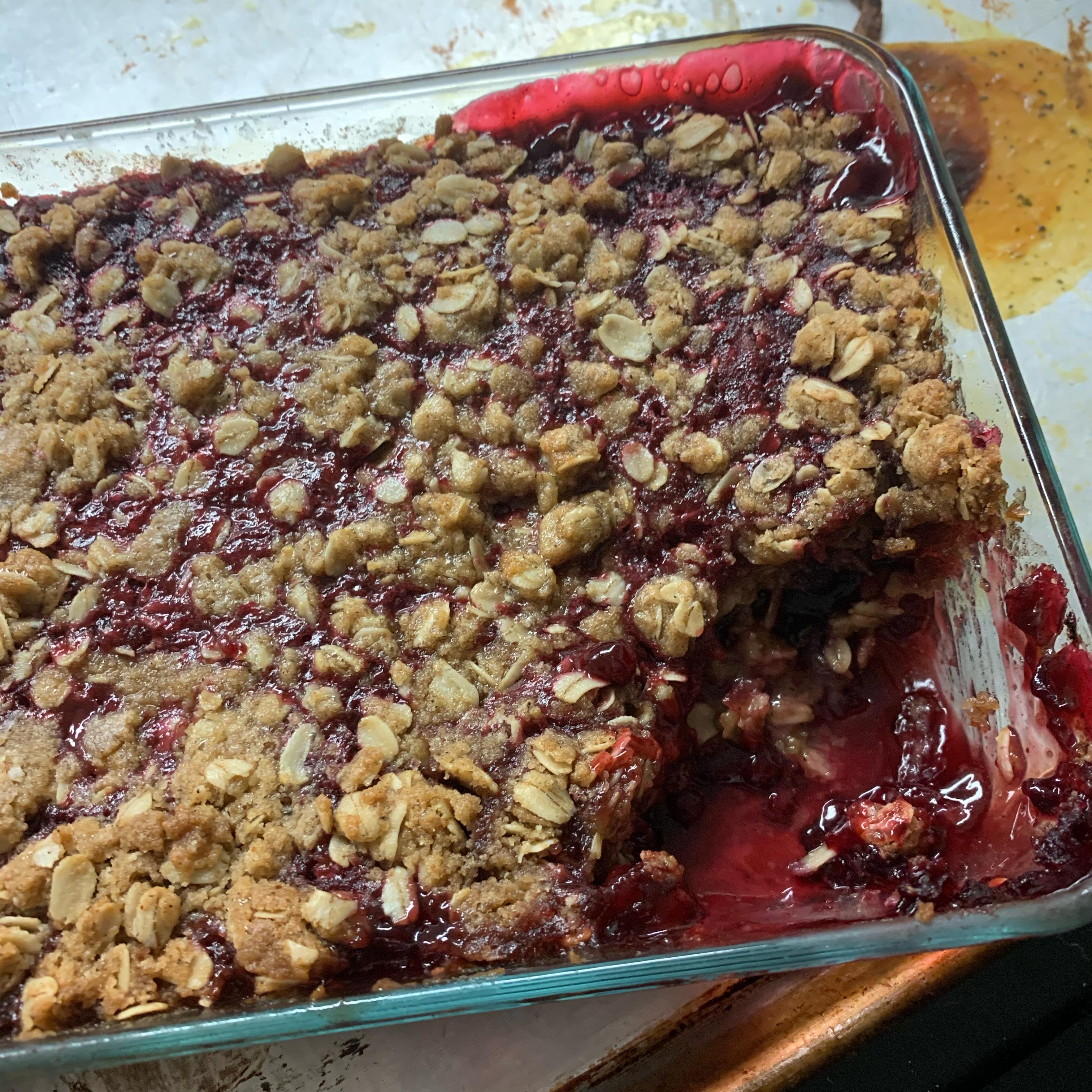 Huckleberry Crisp Anne Clack